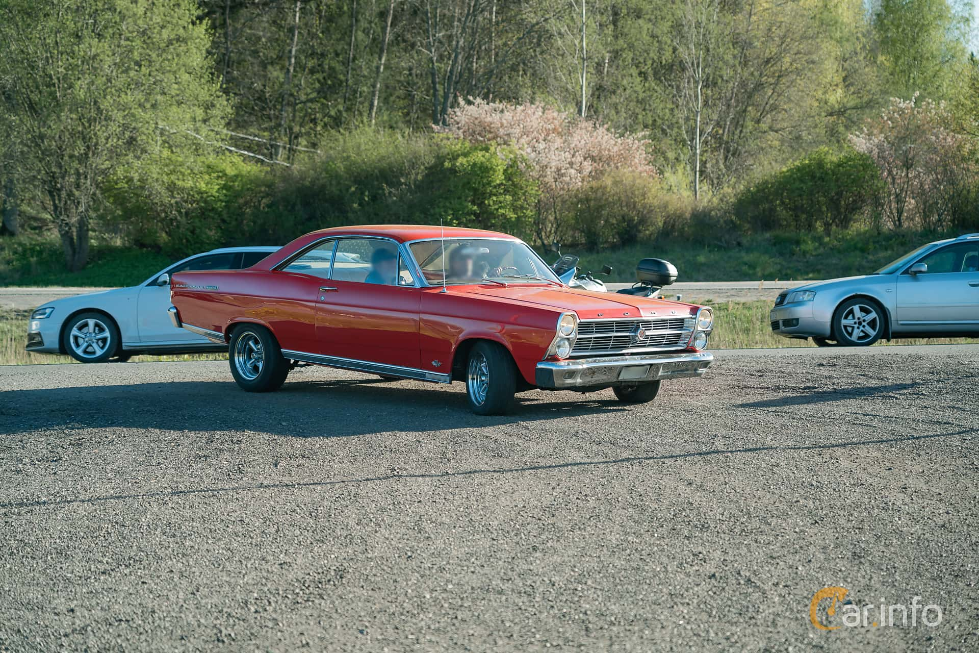 Ford Fairlane 500/XL Hardtop 4.7 V8 Automatic, 203hp, 1966 at Lissma Classic Car 2019 vecka 20