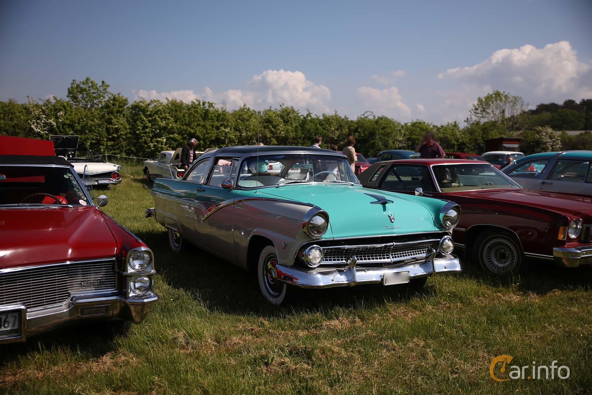 Ford Fairlane 1st Generation By Franzhaenel 1953 Crown Victoria Skyliner