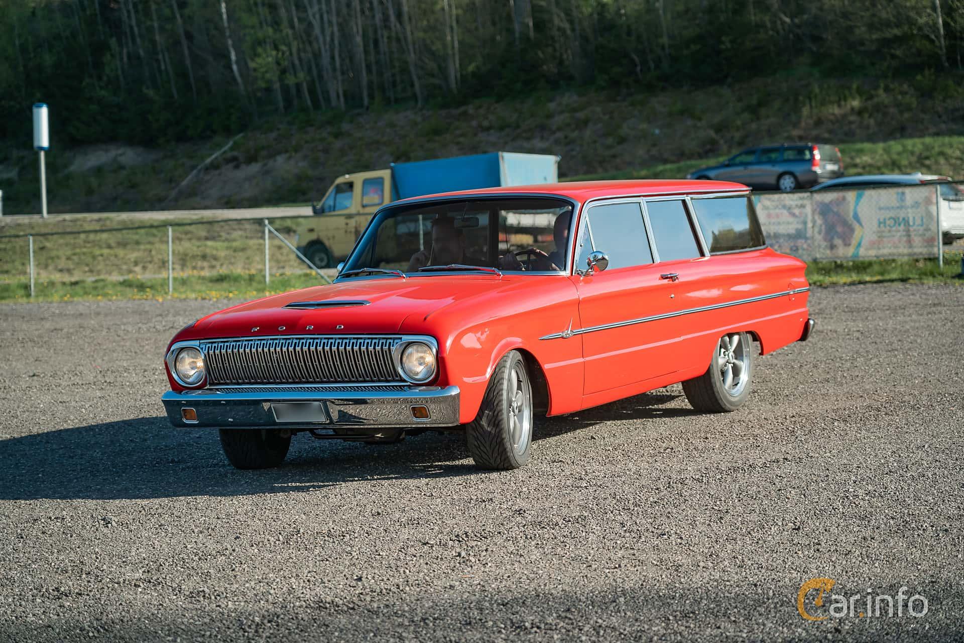 Ford Falcon 2-door Station Wagon 2.8 Automatic, 102hp, 1962 at Lissma Classic Car 2019 vecka 20