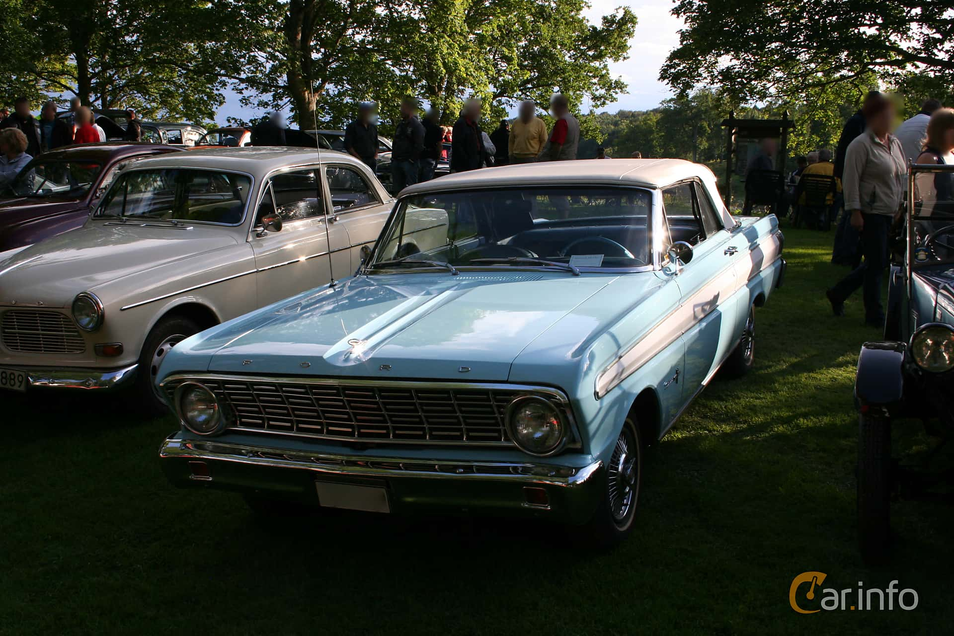 1 Images Of Ford Falcon Sprint Convertible 43 V8 Automatic 166hp 1964 Front Side 166ps