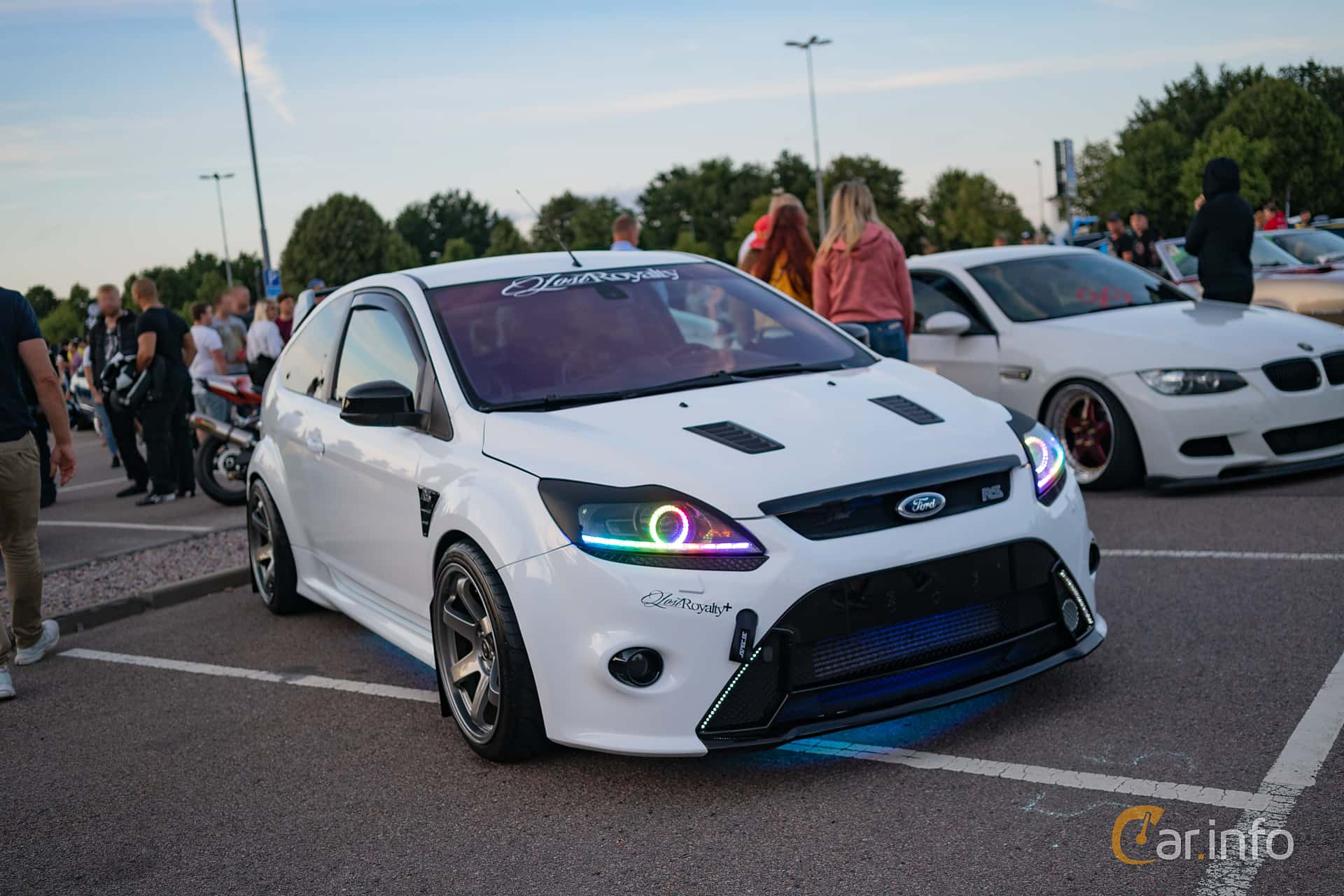 Ford Focus RS 2.5 Manual, 305hp, 2010 at Halmstad By Night 2018