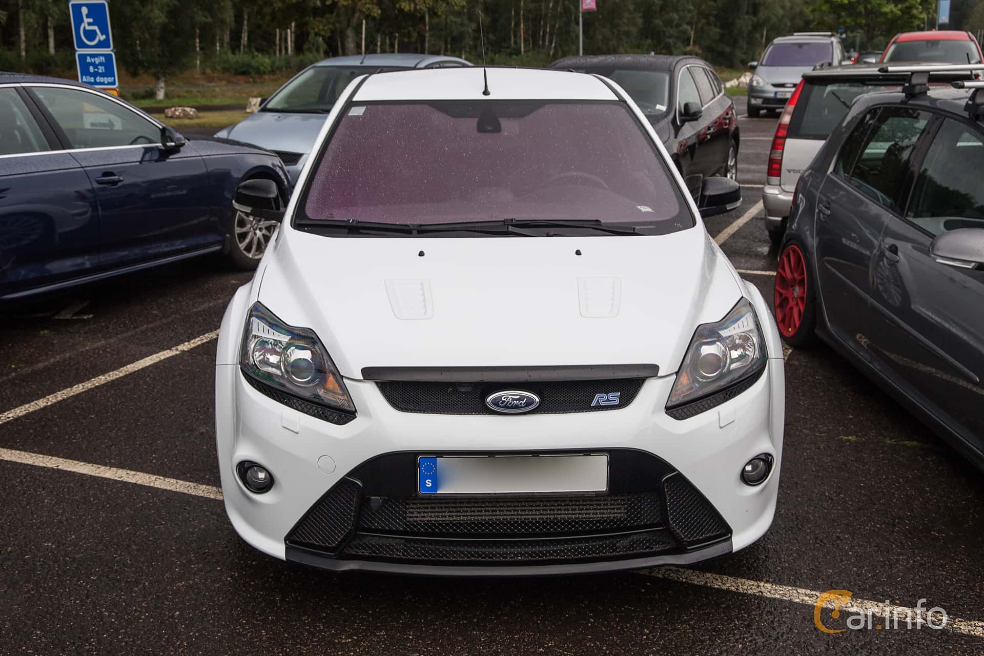Ford Focus RS 2.5 Manual, 305hp, 2010 at Sommarlandsträffen 2017