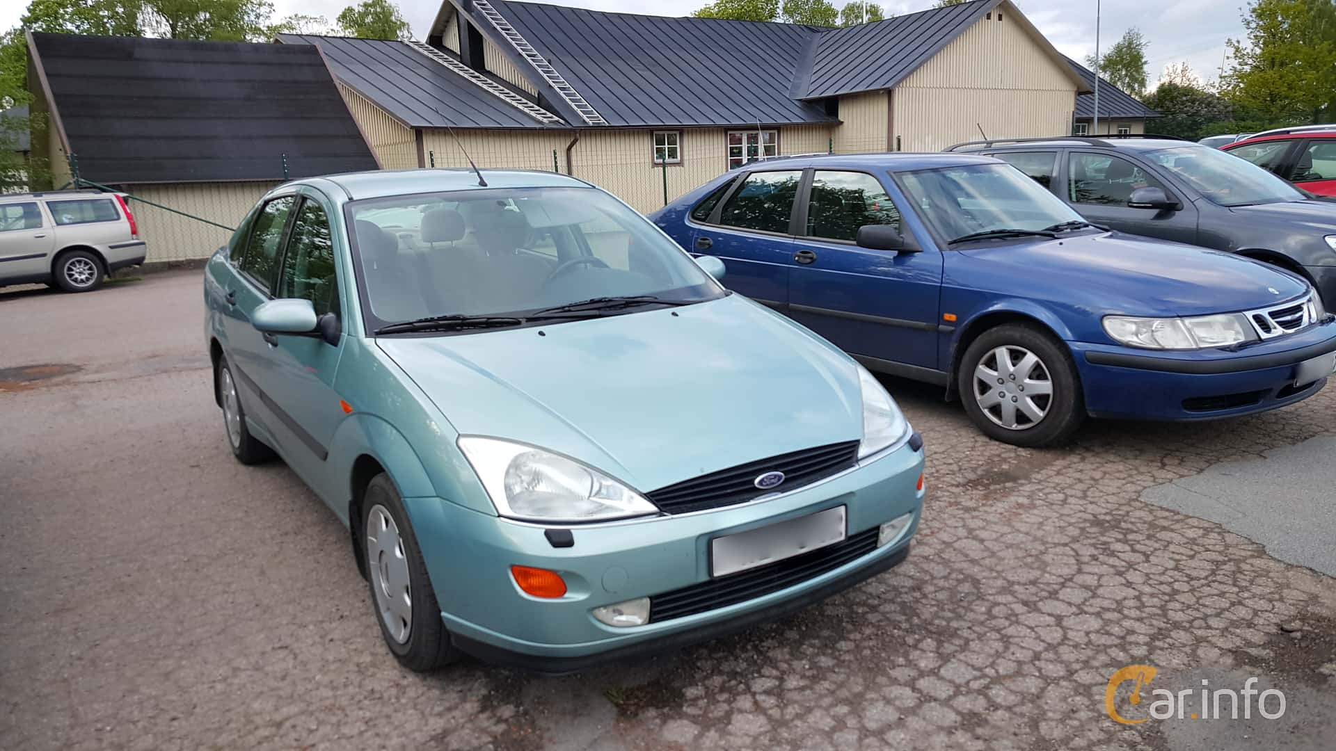 4 Images Of Ford Focus Sedan 20 Manual 130hp 2000 By Jonasbonde Se Front Side 130ps