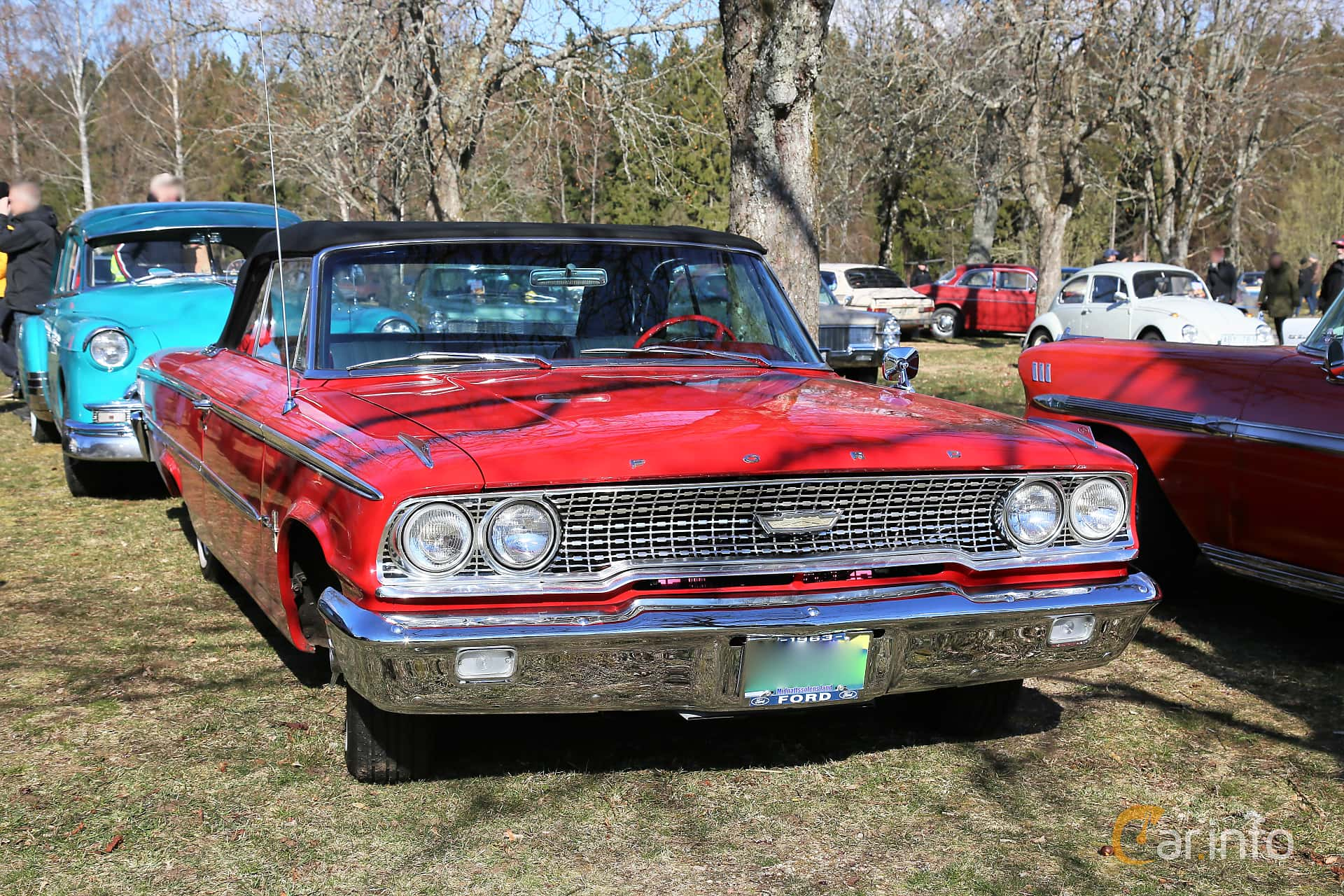 Ford Galaxie 500/XL Convertible 5.8 V8 Automatic, 223hp, 1963 at Uddevalla Veteranbilsmarknad Backamo, Ljungsk 2019