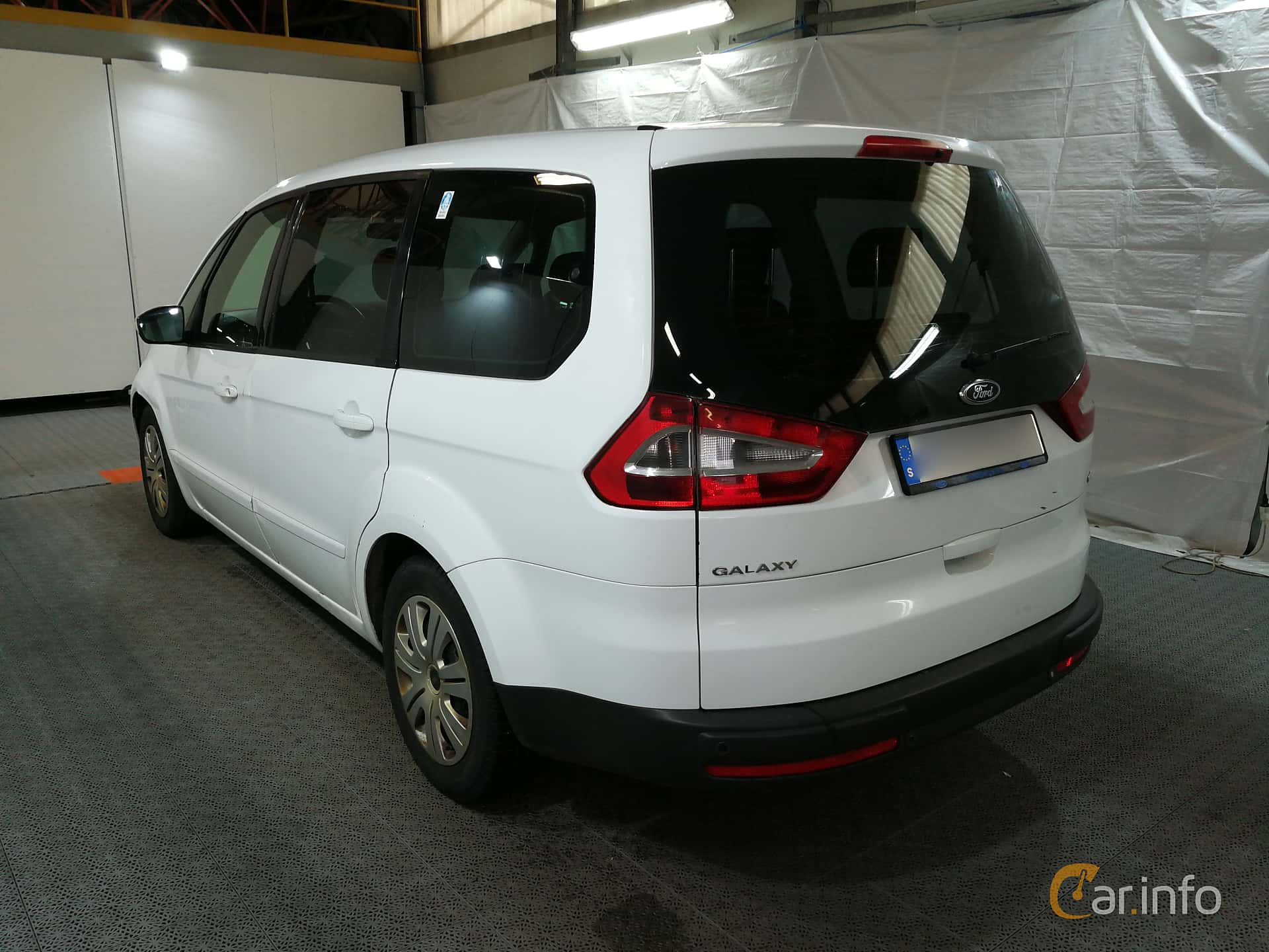 Ford Galaxy 2.0 TDCi Durashift CVT, 130hp, 2008