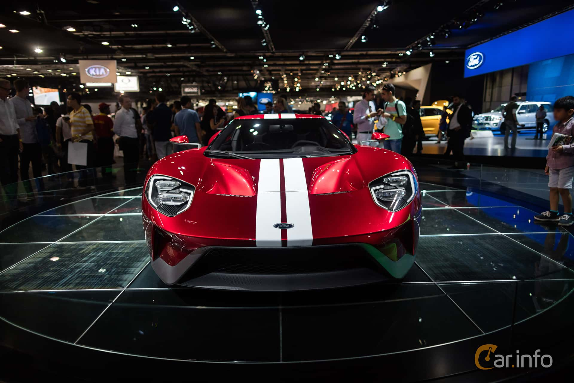 Ford GT 3.5 V6 Ecoboost DCT, 656hp, 2017 at Dubai Motor Show 2015
