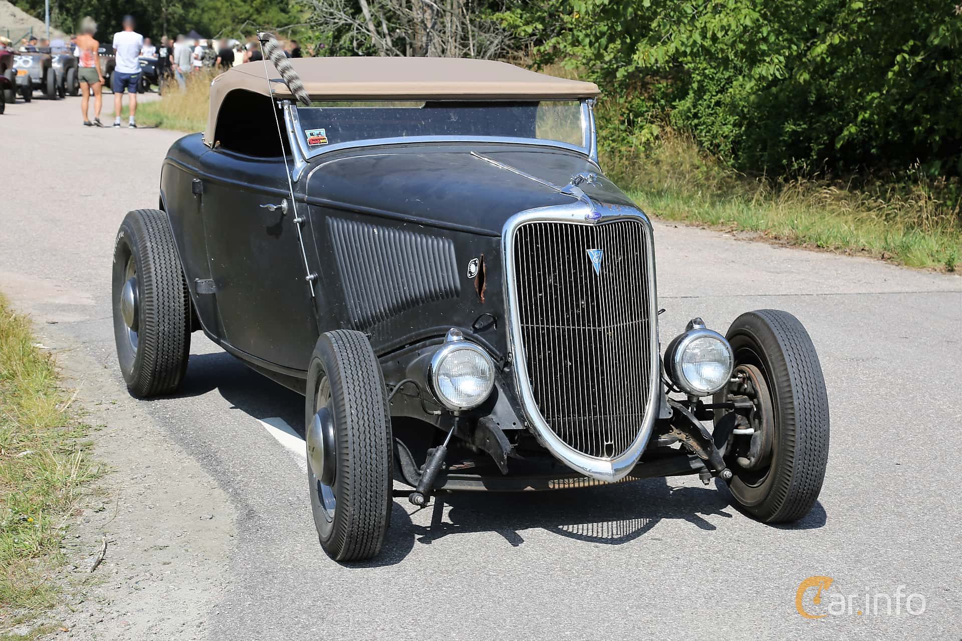Ford Model 40 Roadster 3.3 Manual, 51hp, 1934 at A-bombers - Old Style Weekend Backamo 2019