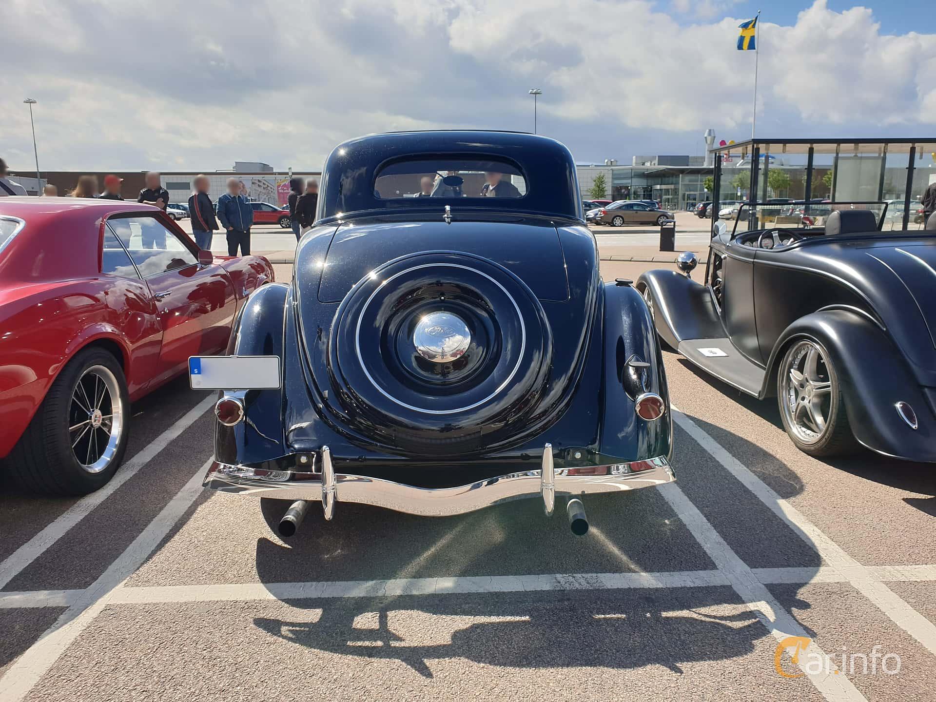 Ford Model 68 3-fönsters Coupé 3.6 V8 Manuell, 86hk, 1936