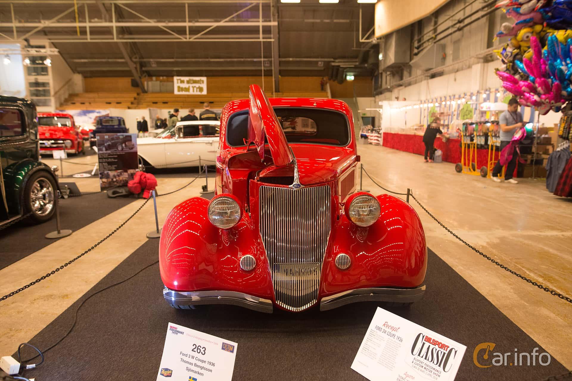 Ford Model 68 3-window Coupé 3.6 V8 Manual, 86hp, 1936 at Bilsport Performance & Custom Motor Show 2018