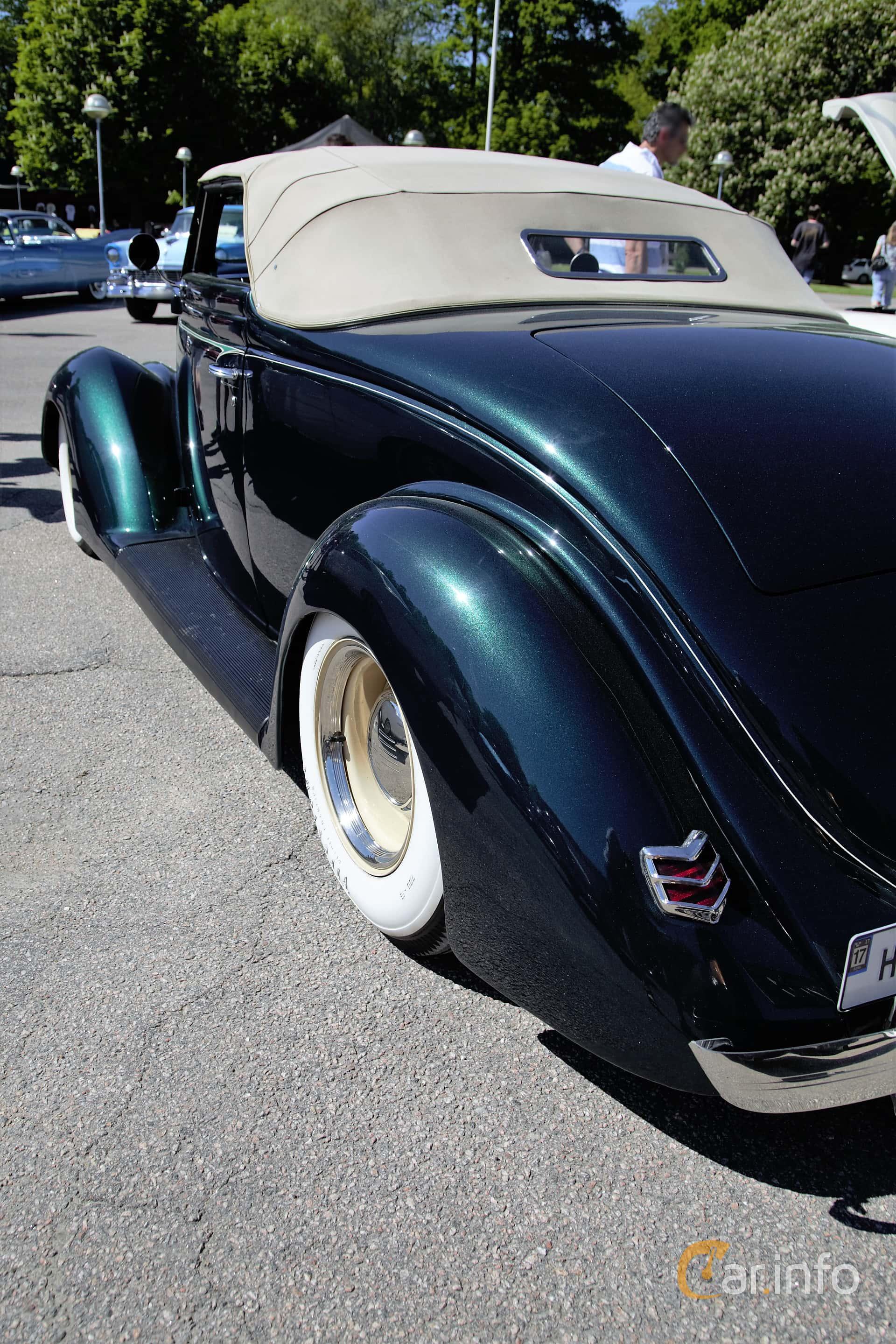 Ford Model 68 Cabriolet 3.6 V8 Manuell, 86hk, 1936