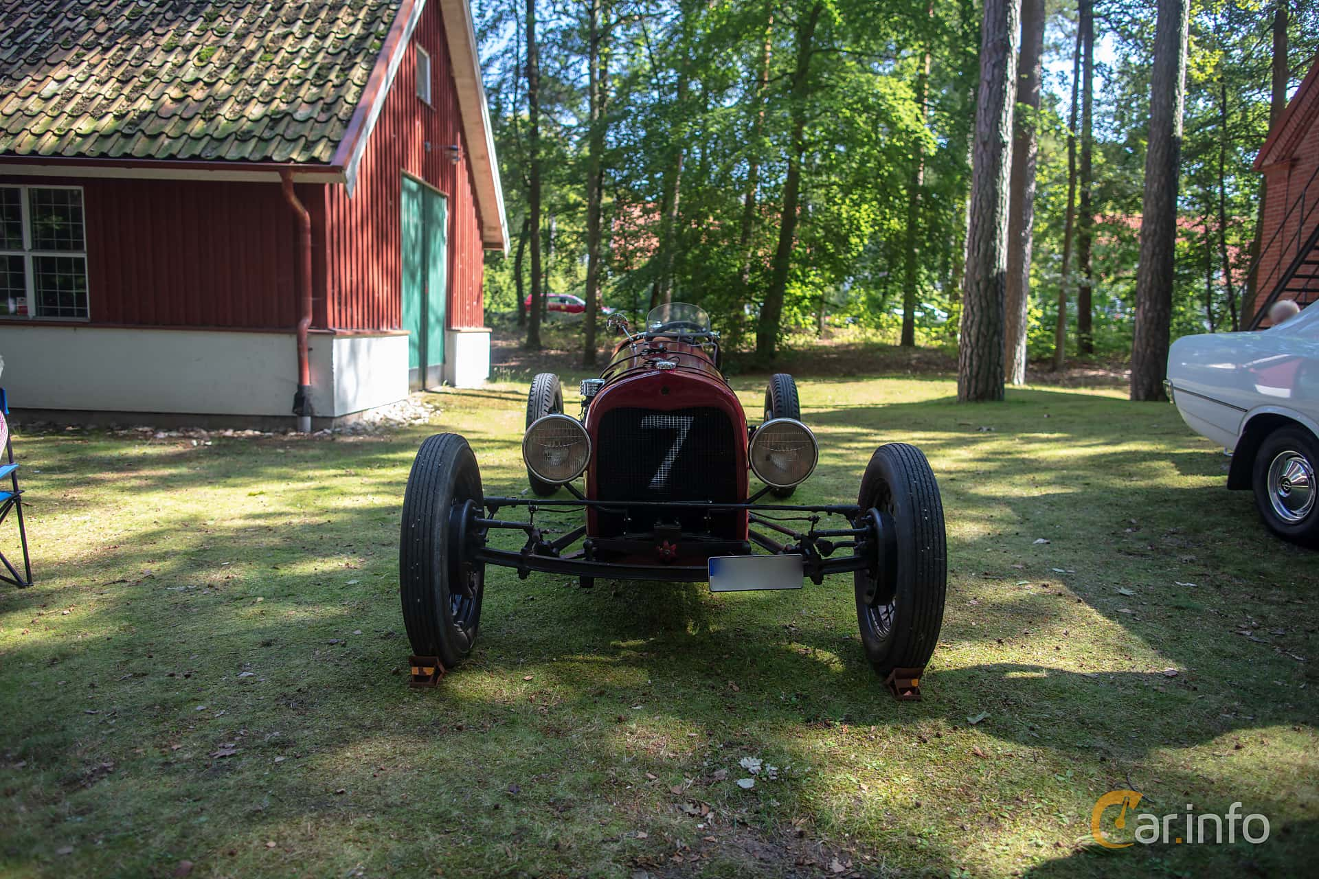 Front  of Ford Model T Runabout 2.9 Manual, 20ps, 1925 at Lergöksträffen Ängelholm 2019