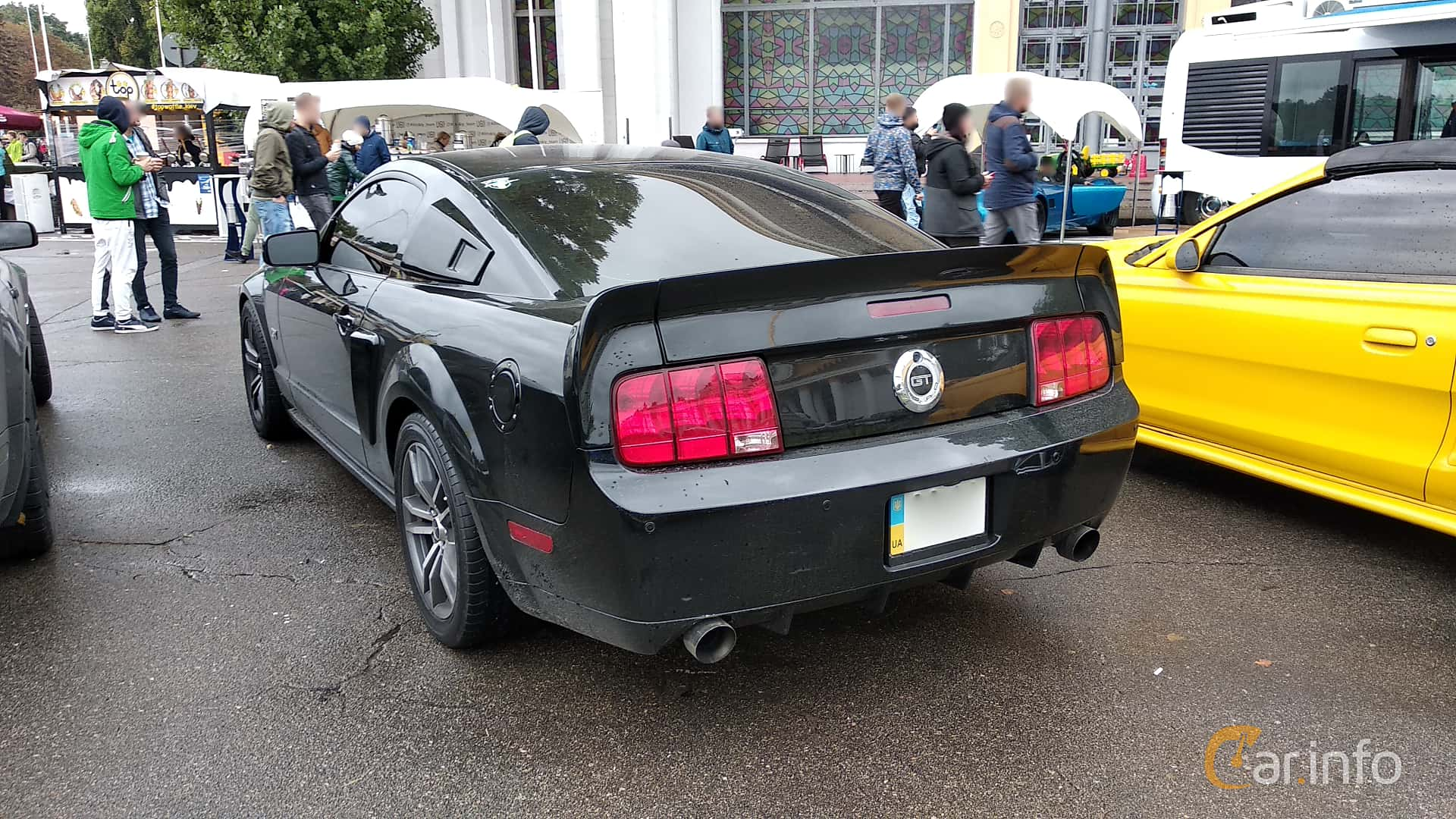 Ford Mustang GT 4.6 V8 304hp, 2005 at Old Car Land no.2 2018