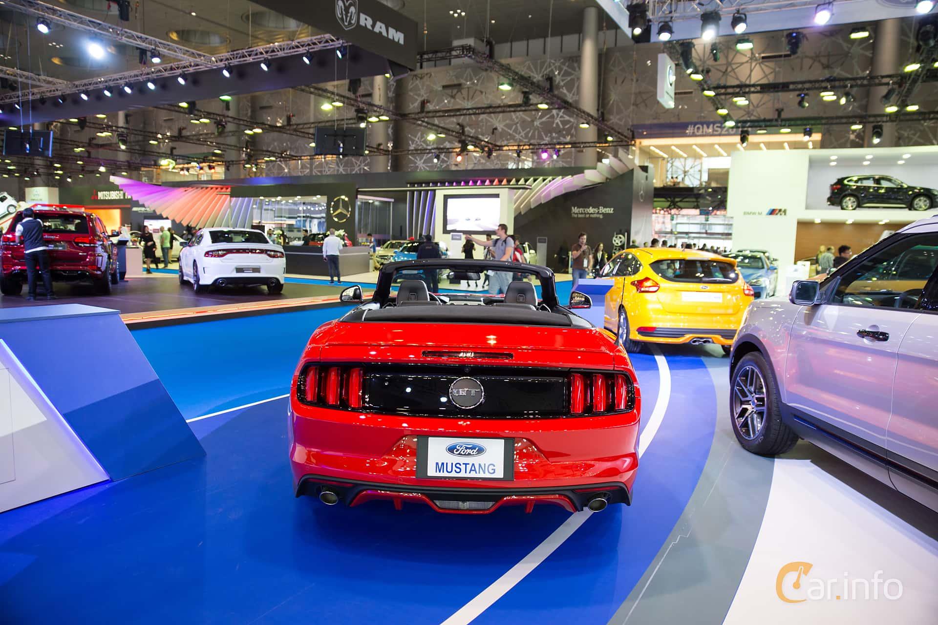 Ford Mustang Gt Convertible   At Qatar Motorshow