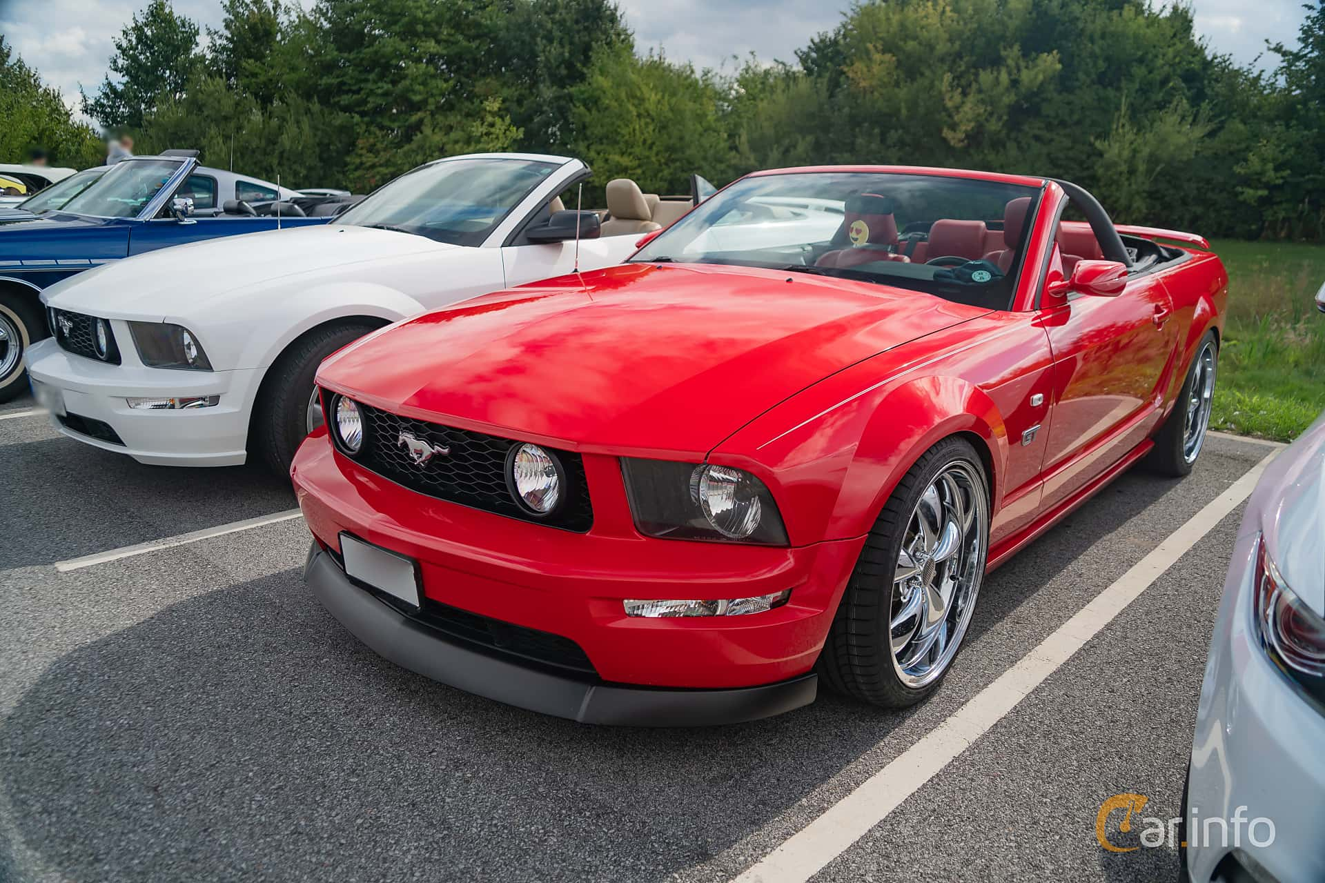 2 Images Of Ford Mustang Gt Convertible 4 6 V8 Automatic 304hp 2005 By Marcusliedholm