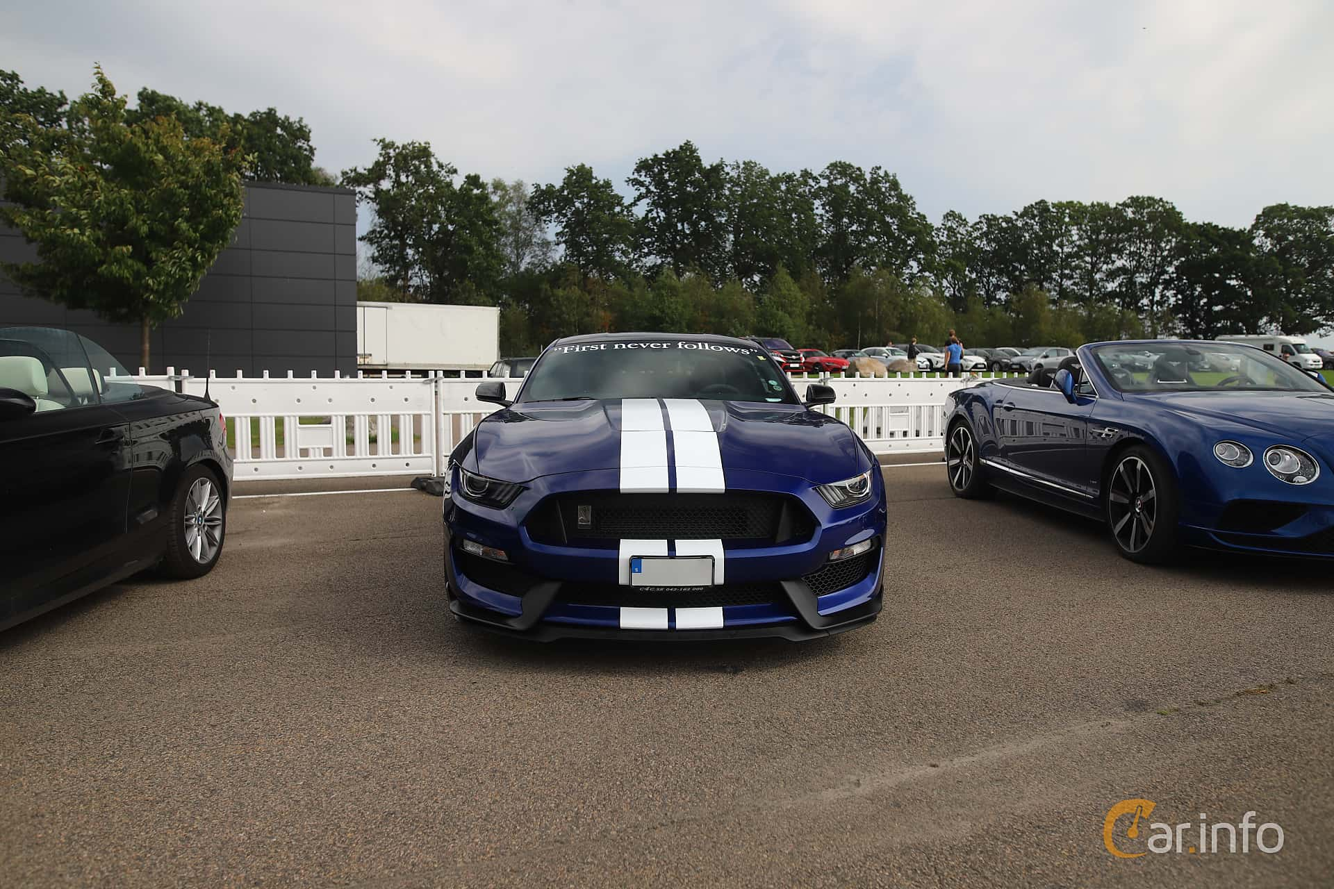 Ford Mustang Shelby GT350 5.2 V8 Manual, 533hp, 2016 at Autoropa Racing day Knutstorp 2019