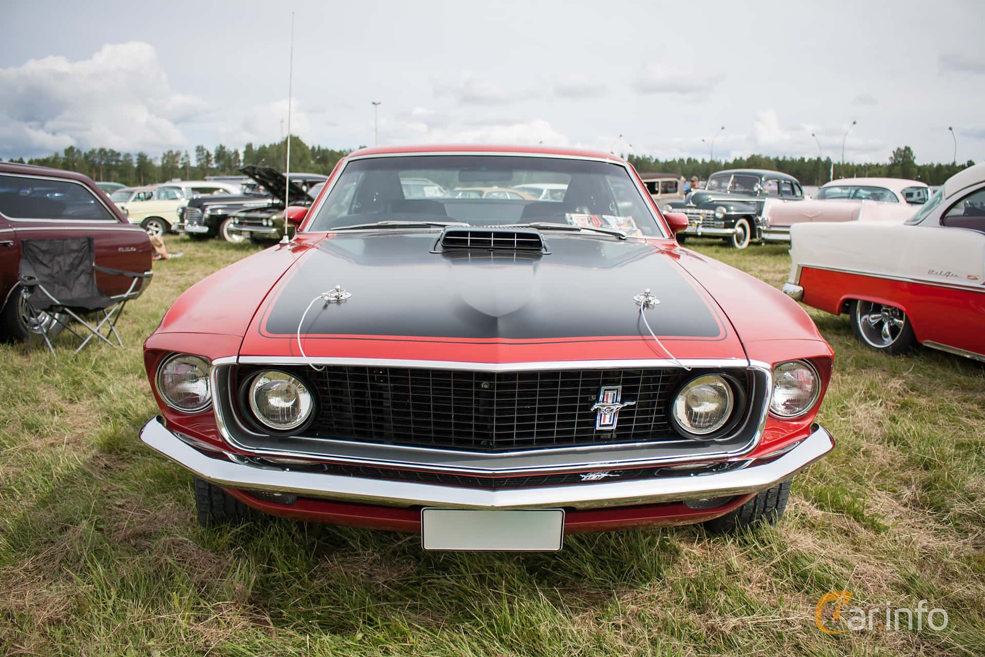 Ford Mustang Mach I 5.8 V8 Automatic, 254hp, 1969 at Classic Car Week Rättvik 2015