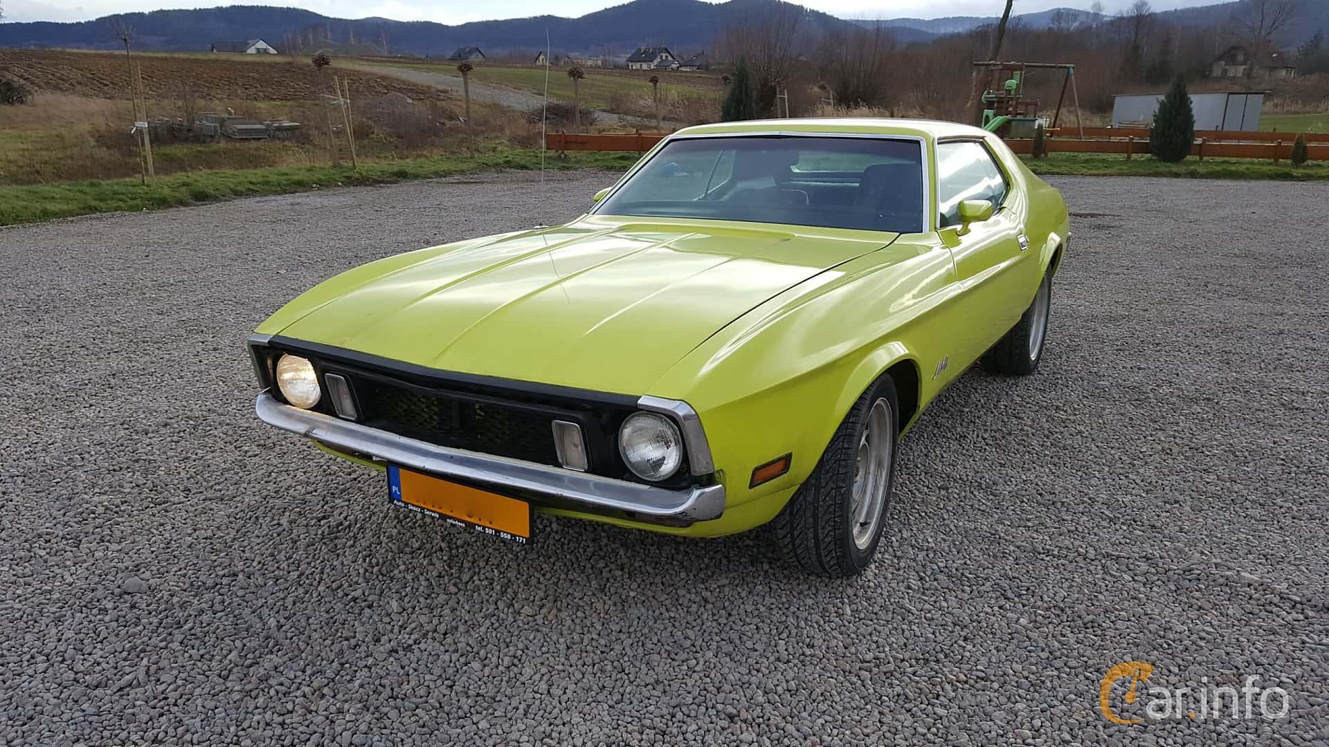 Ford Mustang Hardtop 4.9 V8 Automatisk, 137hk, 1972