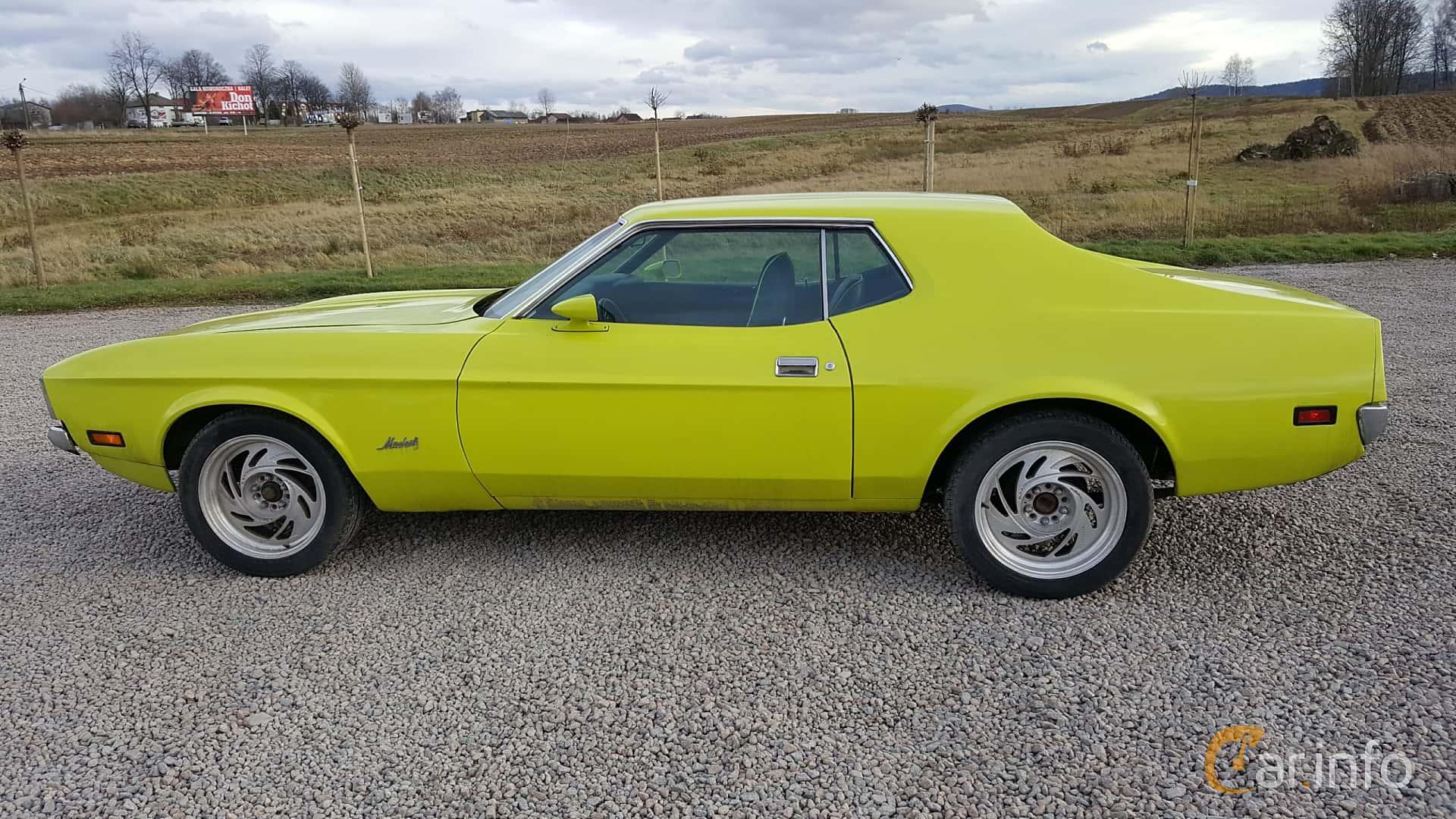 Sida av Ford Mustang Hardtop 4.9 V8 Automatic, 137ps, 1972