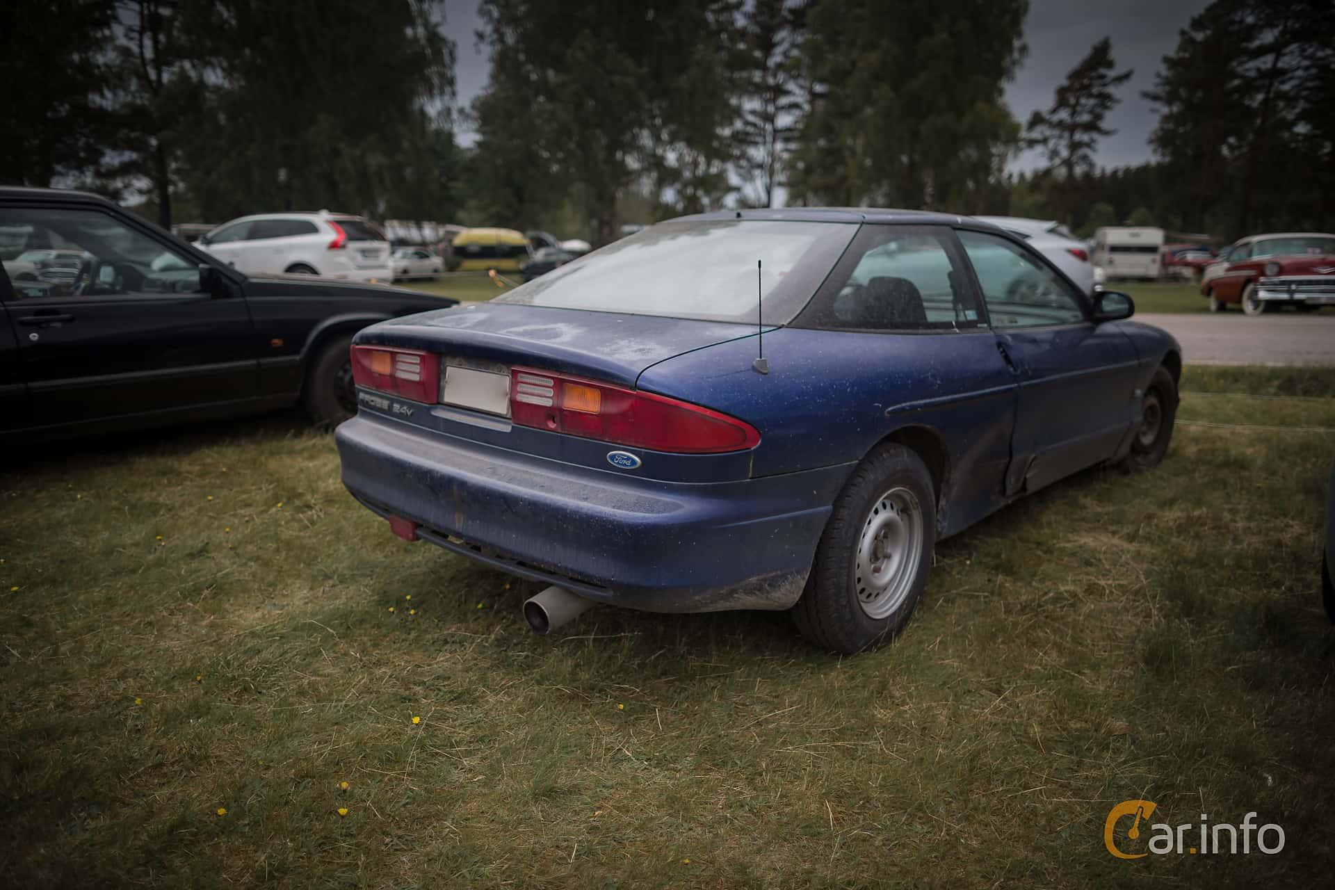 Back/Side of Ford Probe 2.5 V6 Manual, 163ps, 1993 at Nostalgifestivalen i Vårgårda 2015