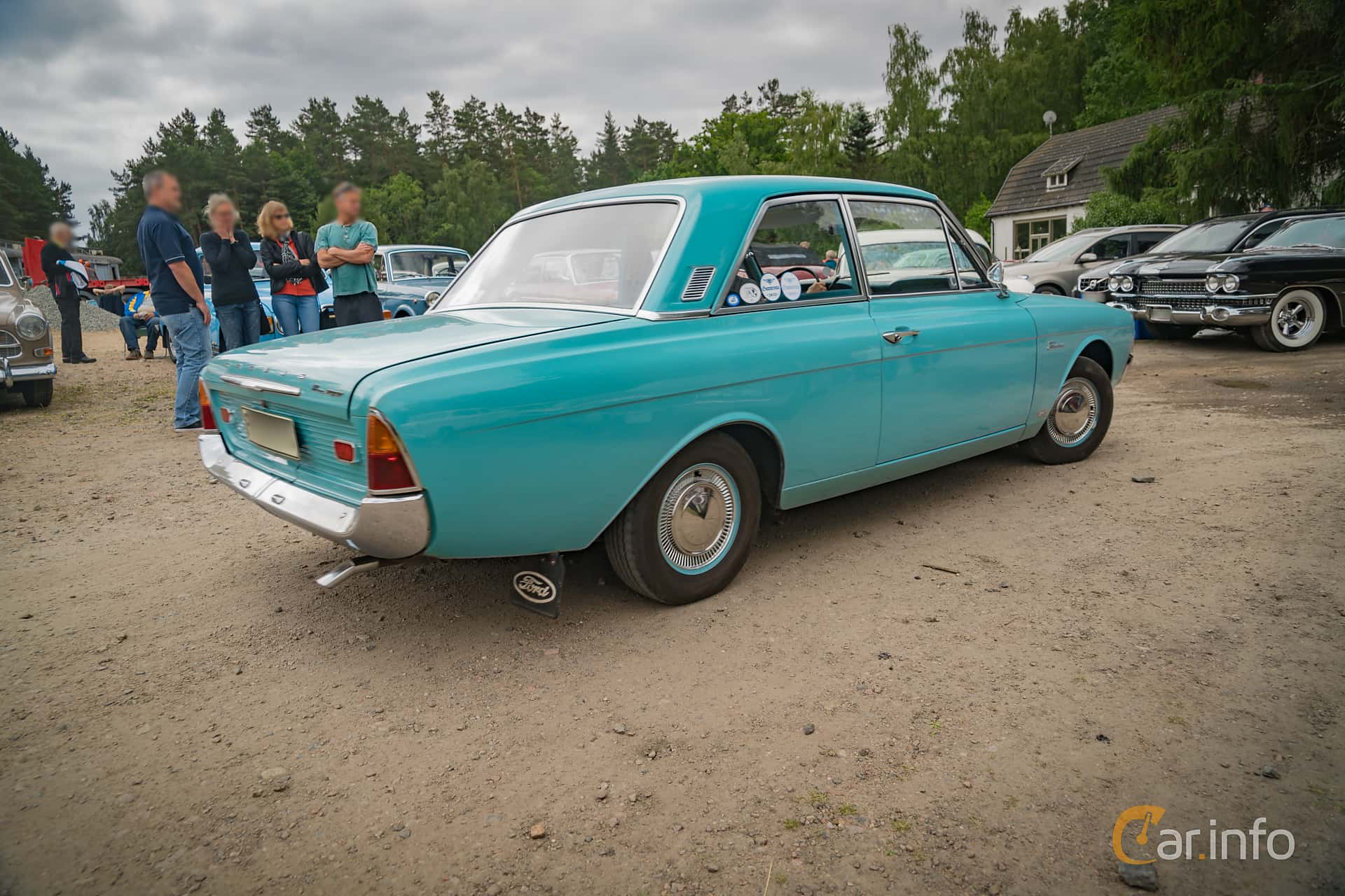 Ford Taunus 2-dörrar Limousine 1.7 Manuell, 71hk, 1965 at Ljuva 50-tal (2016 Version)