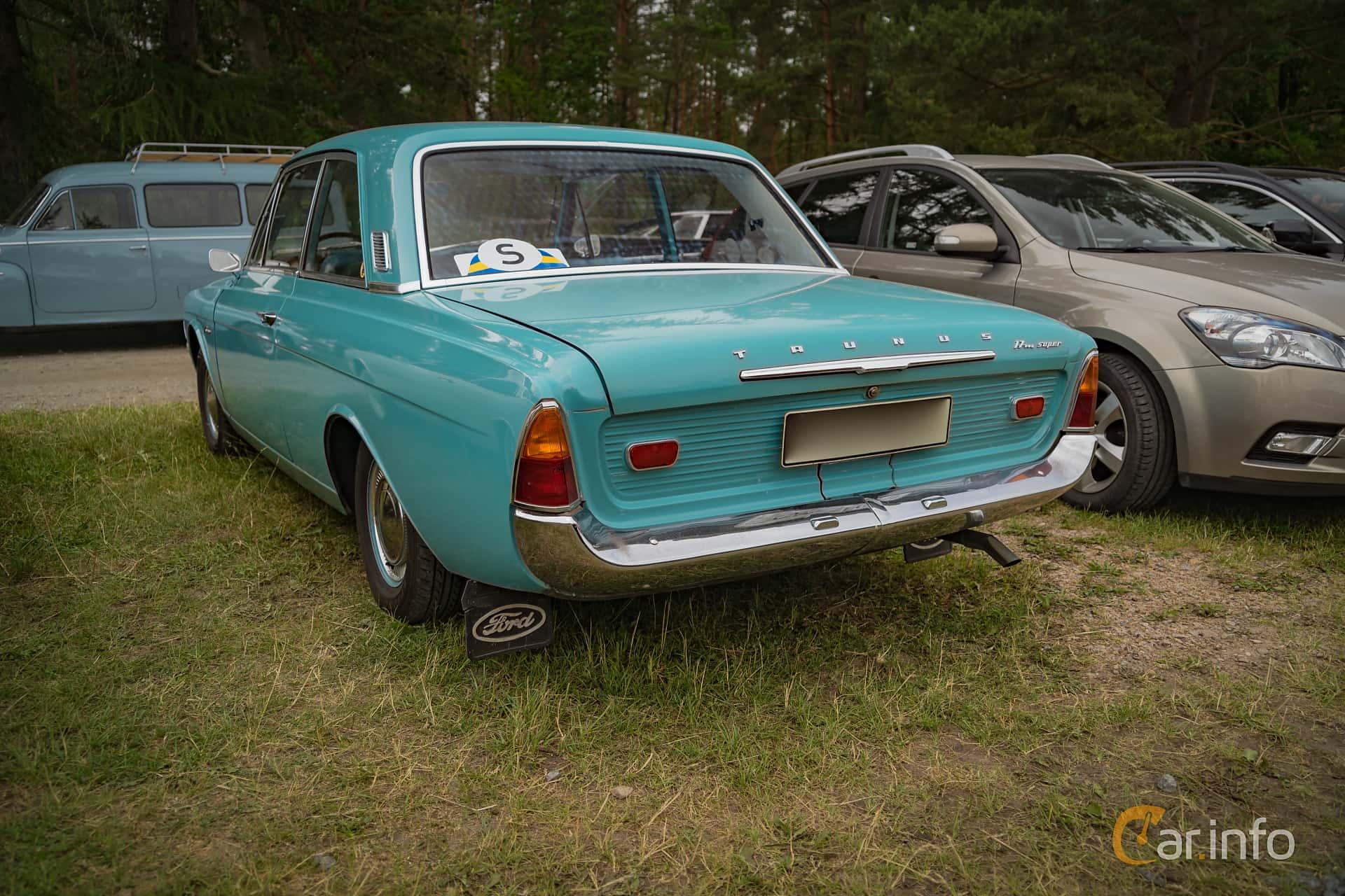 Ford Taunus 2-door Limousine 1.7 Manual, 71hp, 1965 at Ljuva 50-tal (2016 Version)