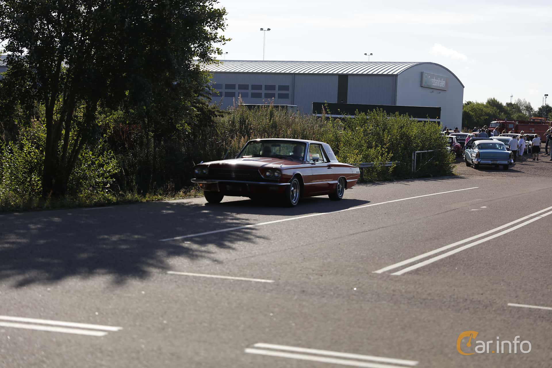 Ford Thunderbird Hardtop 6.4 V8 Automatic, 305hp, 1966 at Lergökarallyt 2018