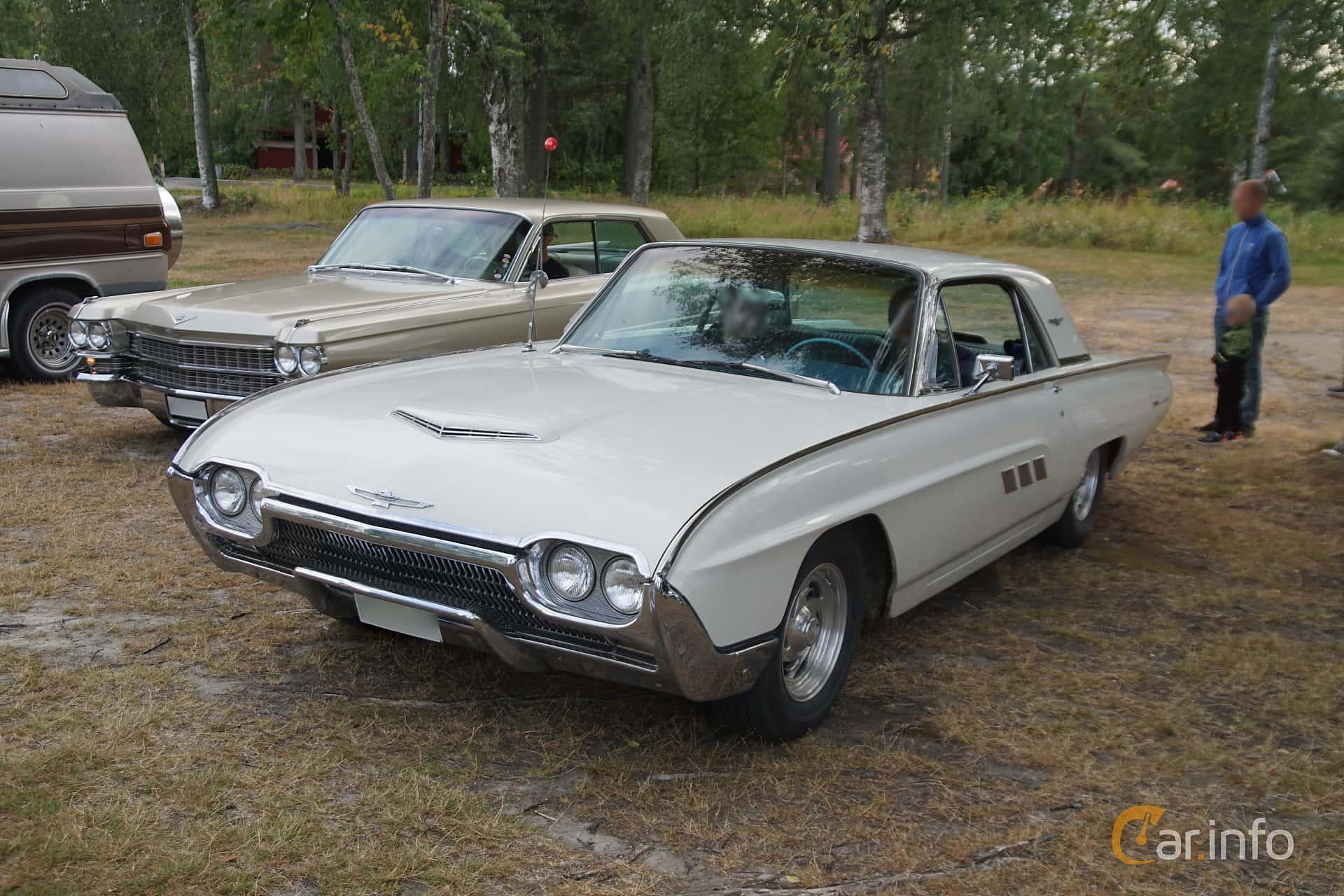 Ford Thunderbird Hardtop 6.4 V8 Automatic, 305hp, 1963 at Onsdagsträffar på Gammlia Umeå 2019 vecka 32