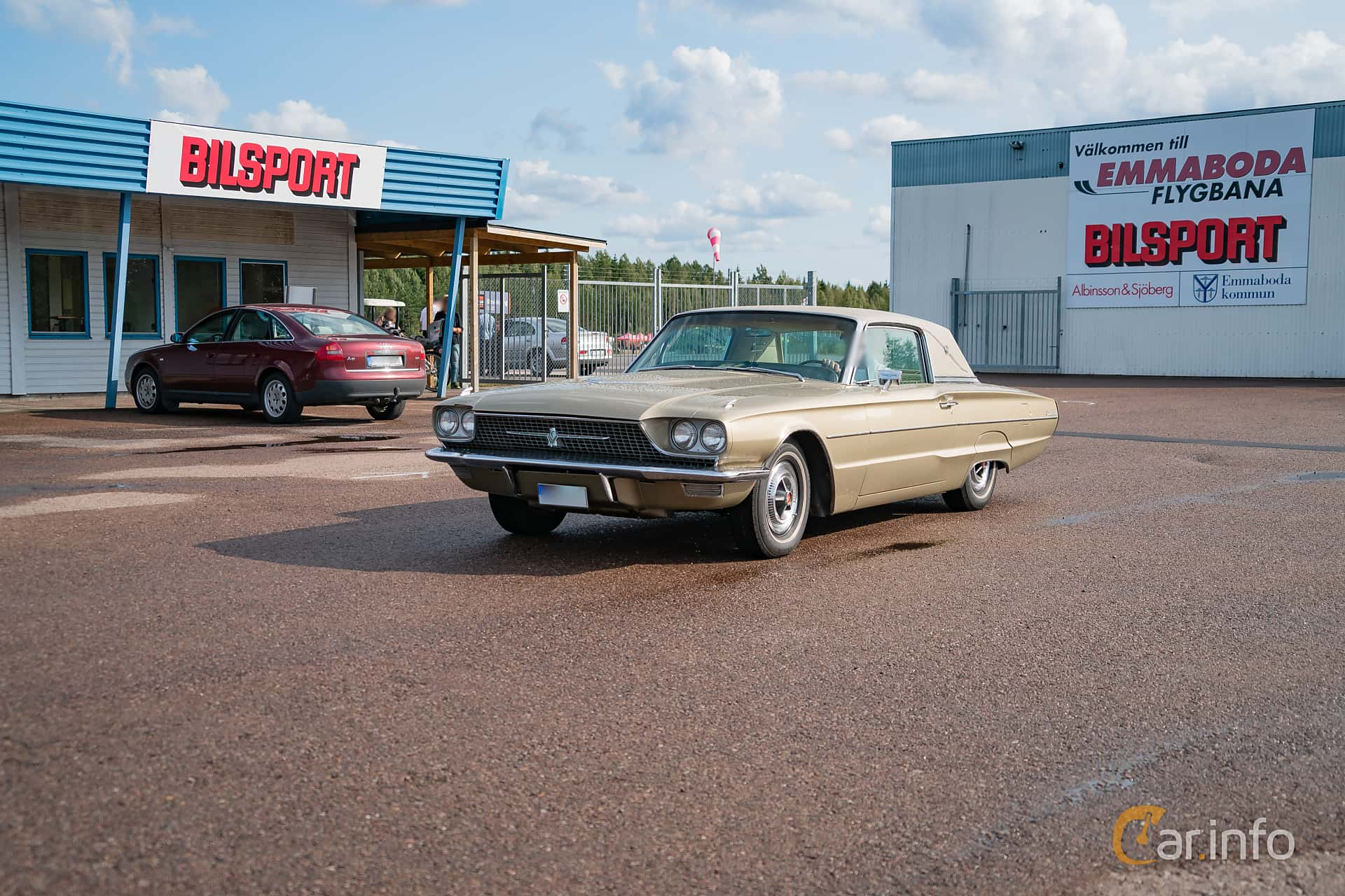 Ford Thunderbird Hardtop 6.4 V8 Automatic, 305hp, 1966 at Power End of Summer Meet Emmaboda 2018