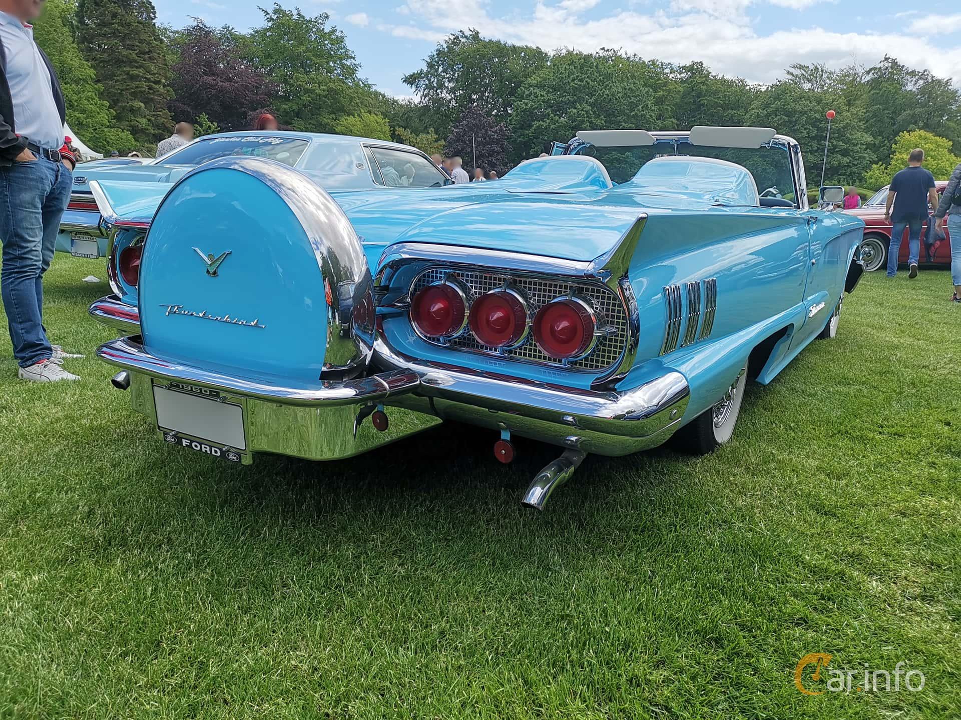 Ford Thunderbird Convertible 5.8 V8 Automatic, 305hp, 1960 at Sofiero Classic 2019