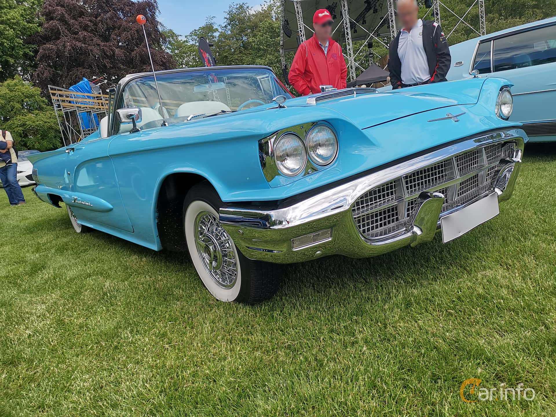 Ford Thunderbird Convertible 5.8 V8 Automatic, 305hp, 1960 at Sofiero Classic 2019