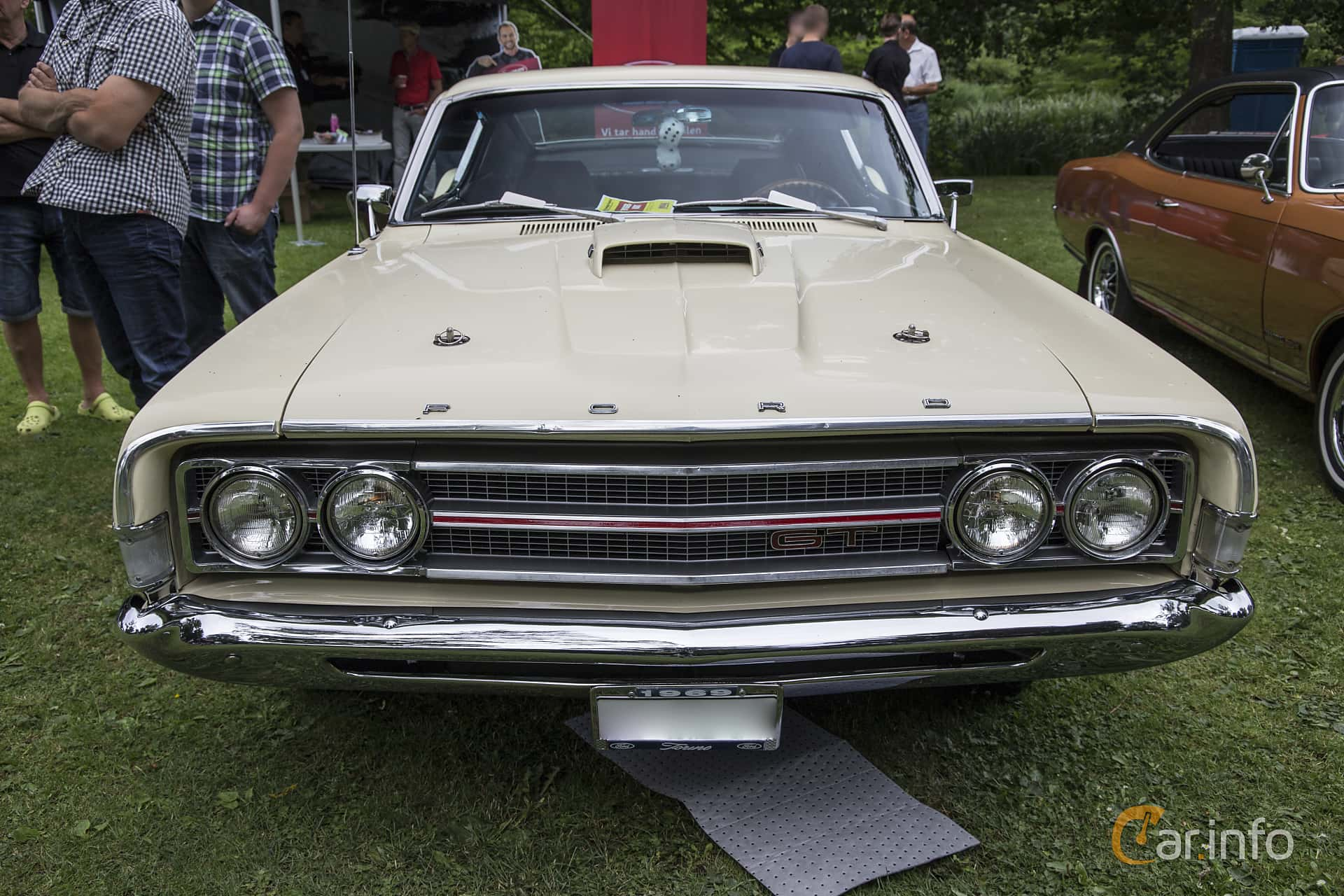 Official Image Taken At Camera Logo Review A Car 1969 Ford Torino Gt Convertible Fastback 64 V8 Automatic 324hp Ronneby Nostalgia Festival 2016