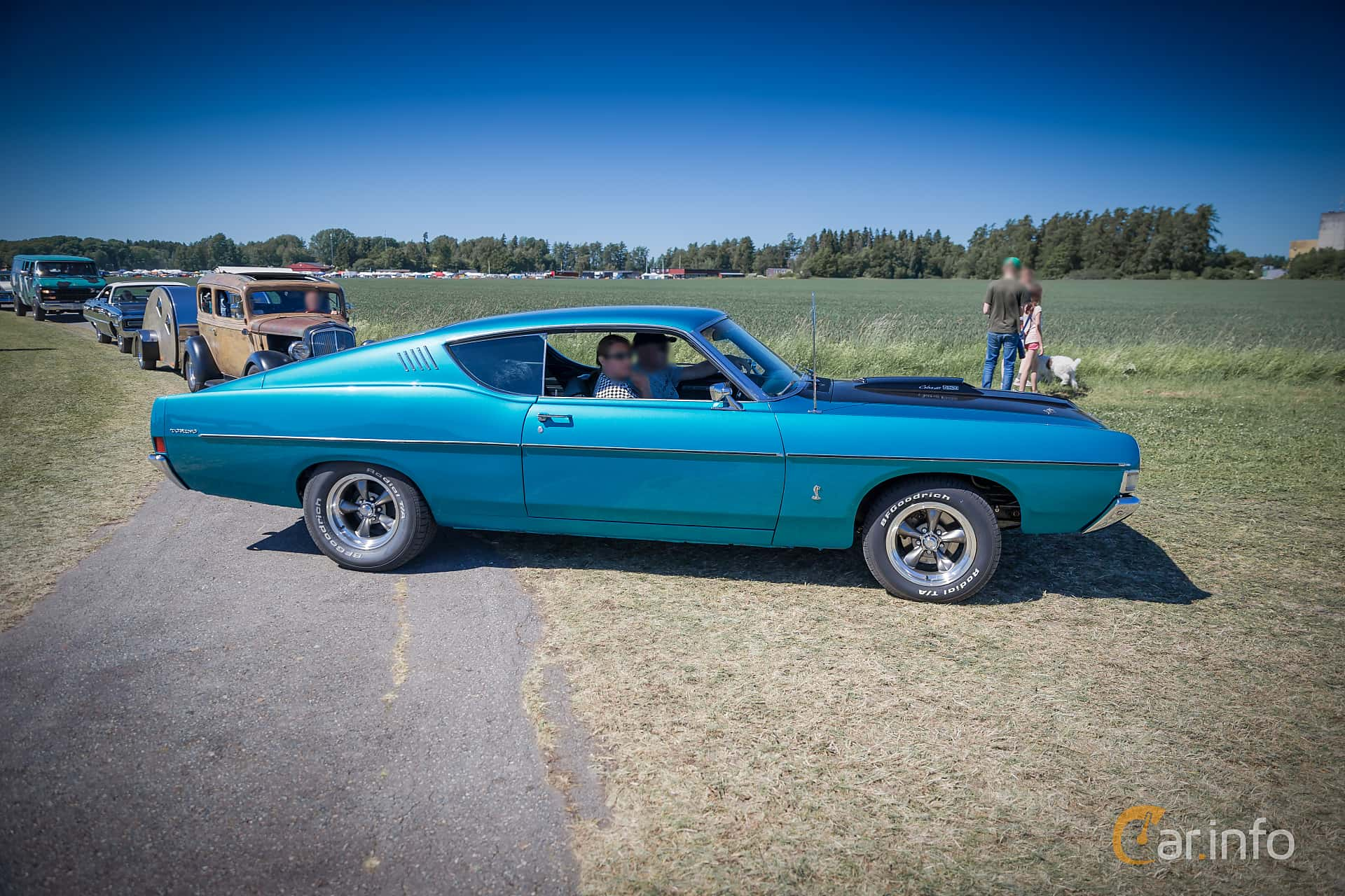 Ford Torino GT Fastback 6 4 V8 Automatic, 269hp, 1968
