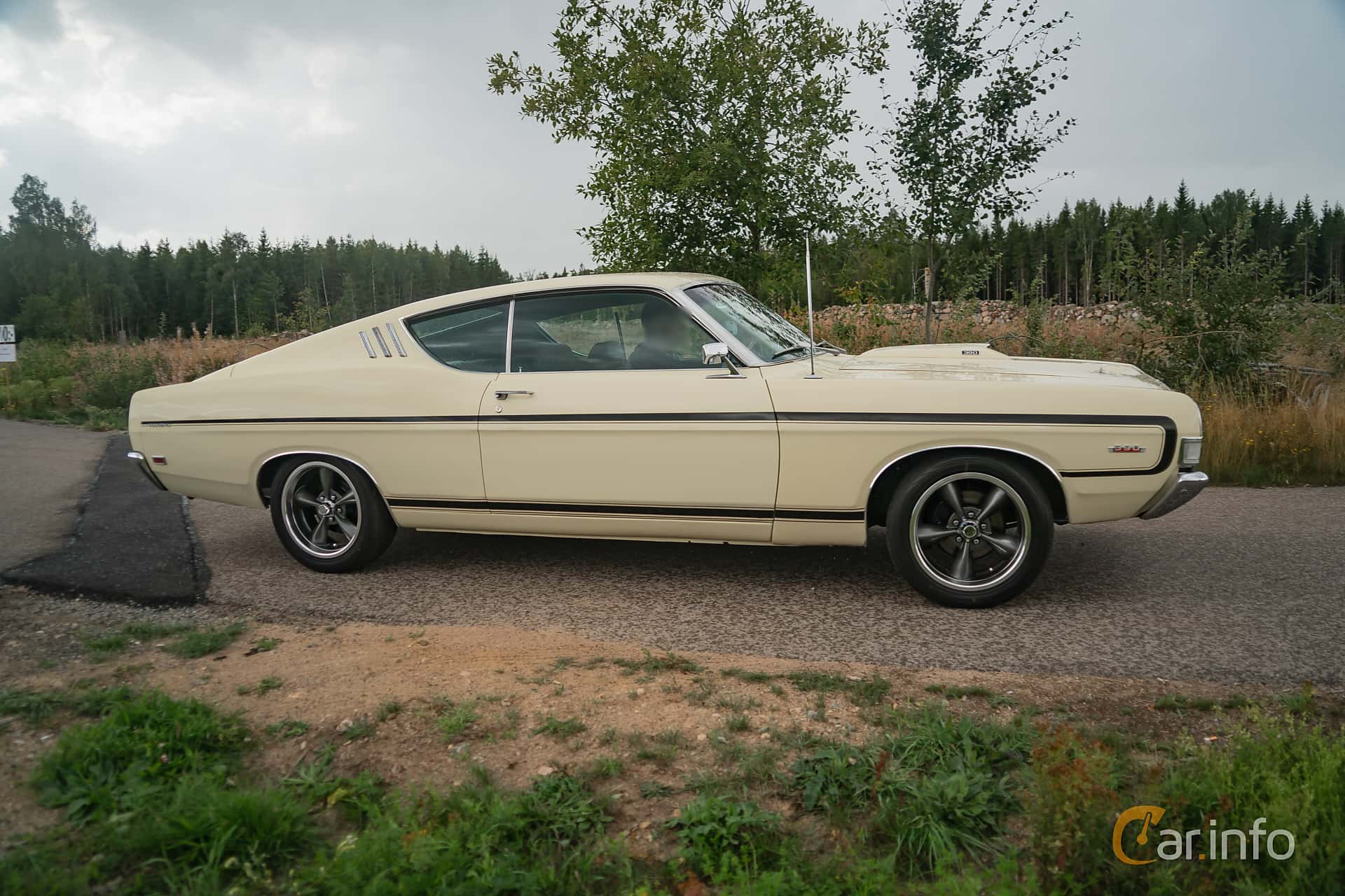 2 Images Of Ford Torino Gt Sportsroof 64 V8 Automatic 324hp 1969 Side 324ps At Power End