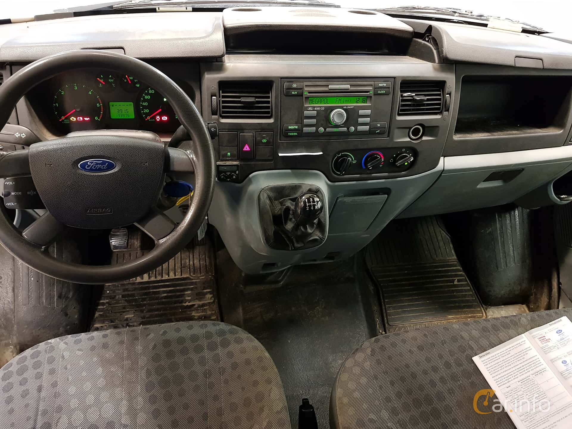 Ford Transit Van 2 2 TDCi Manual, 85hp, 2008