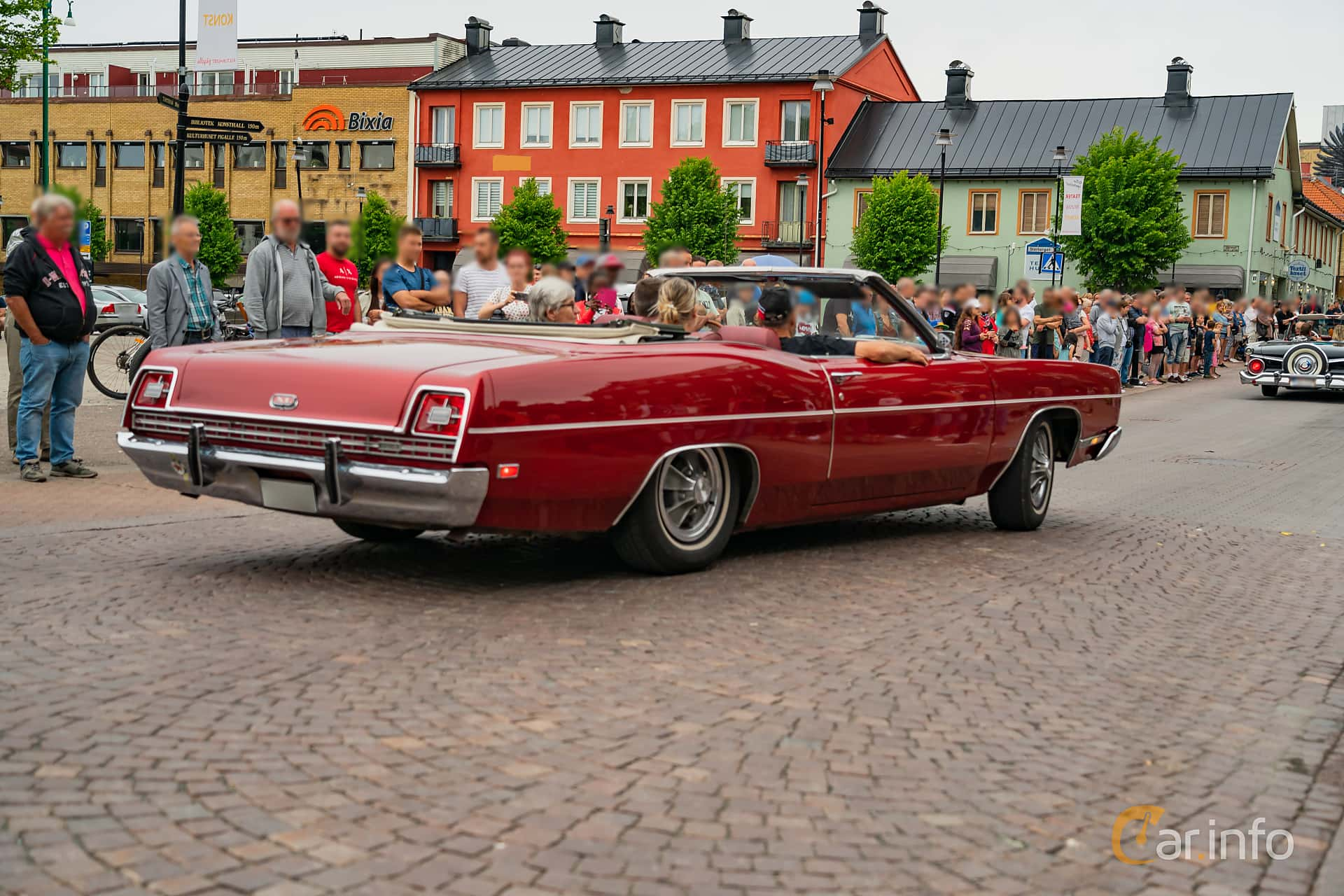 Ford XL Convertible 7.0 V8 Automatic, 324hp, 1969 at Nässjö Cruising 2019