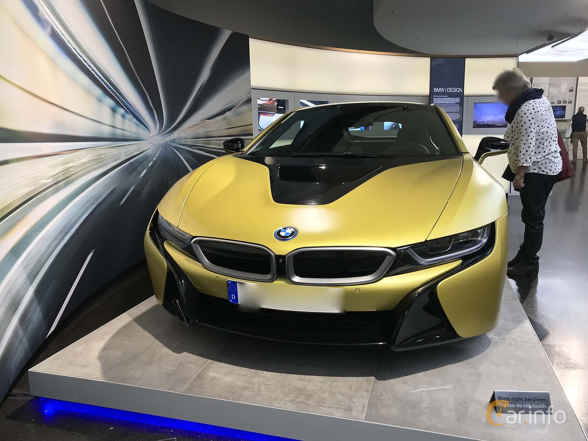 Front  of BMW i8 1.5 + 7.1 kWh Steptronic, 362ps, 2014