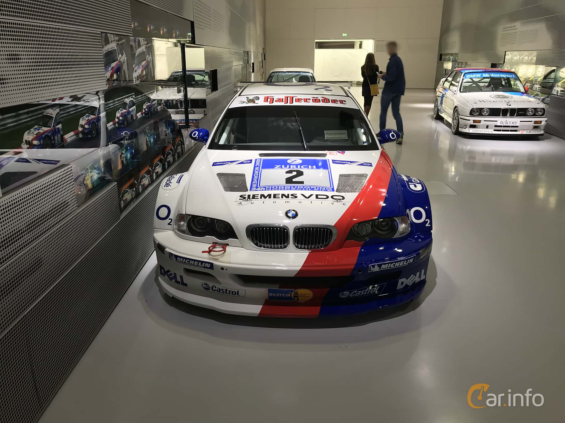 Front  of BMW M3 GTR GT2  Manual, 500ps, 2004