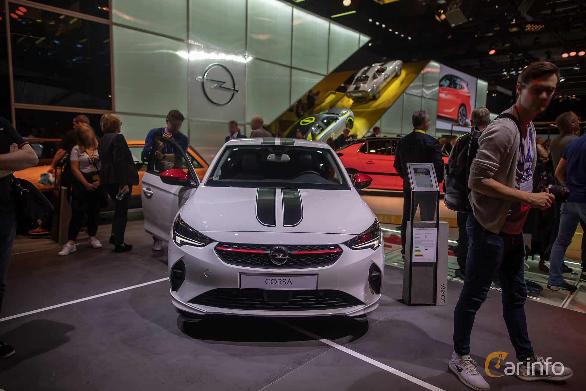 Front  of Opel Corsa 1.2 Turbo Automatic, 100ps, 2020 at IAA 2019