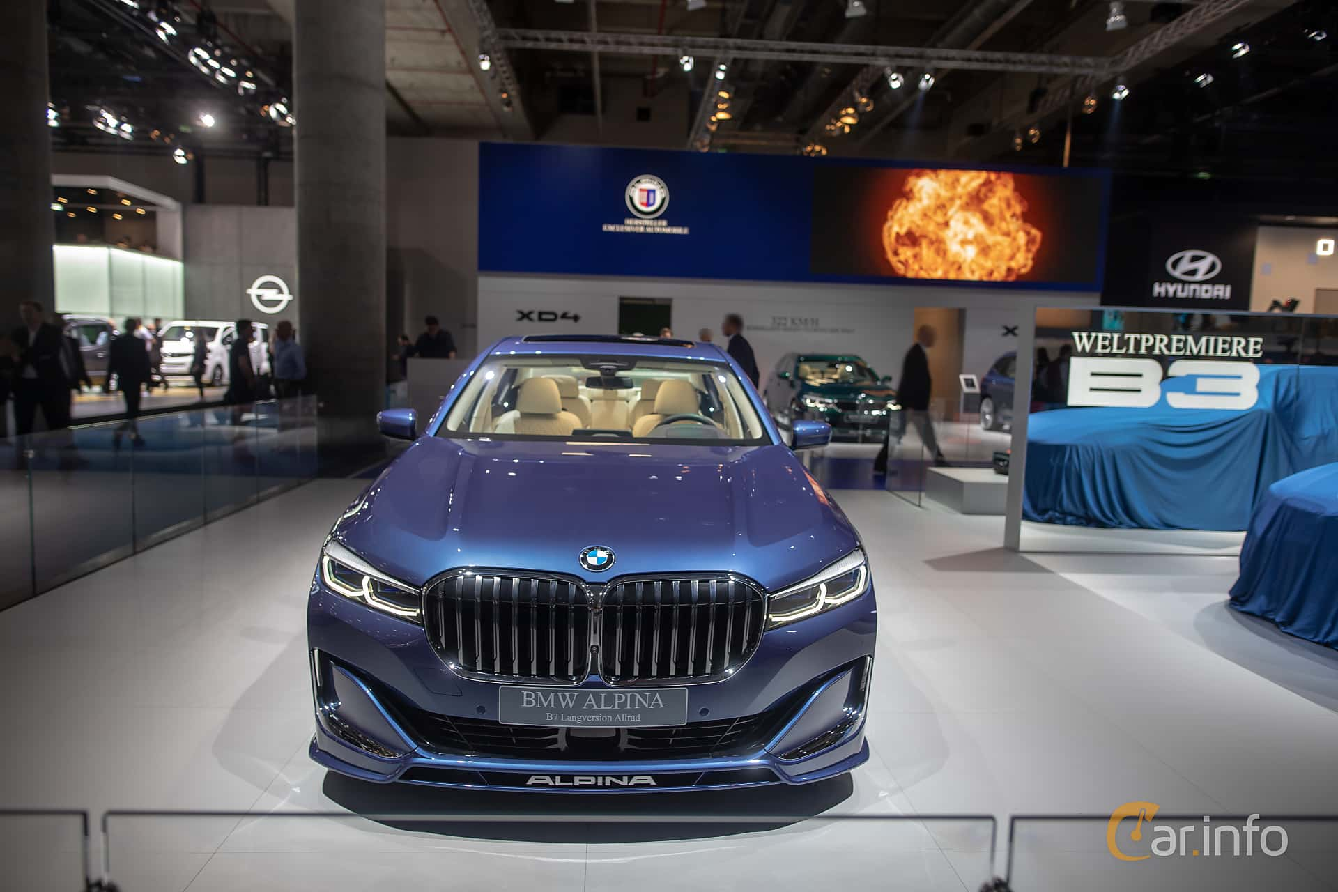 ALPINA B7 LWB ALLRAD  Switch-Tronic, 608hp, 2020 at IAA 2019