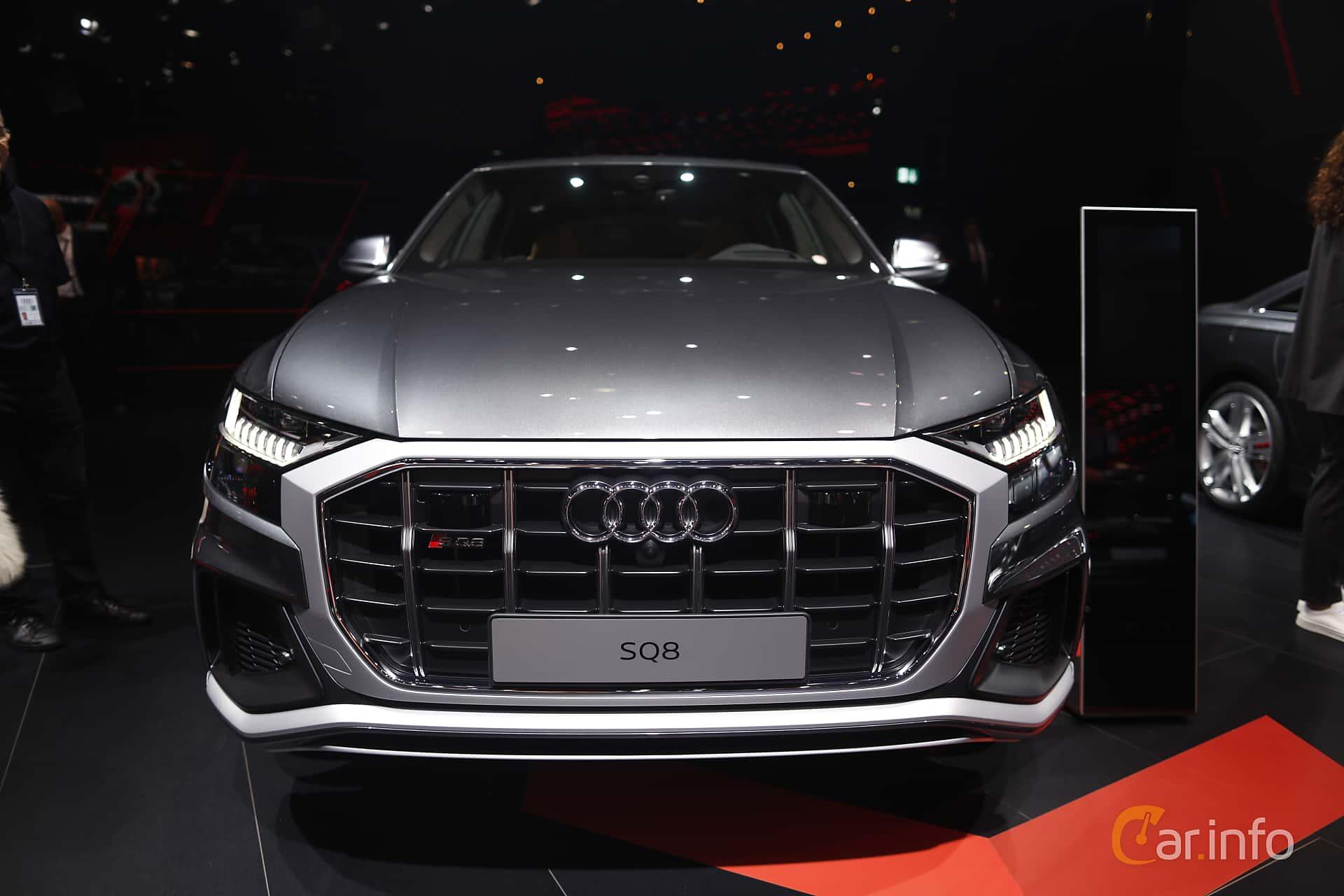 Front  of Audi SQ8 TDI  TipTronic, 435ps, 2020 at IAA 2019