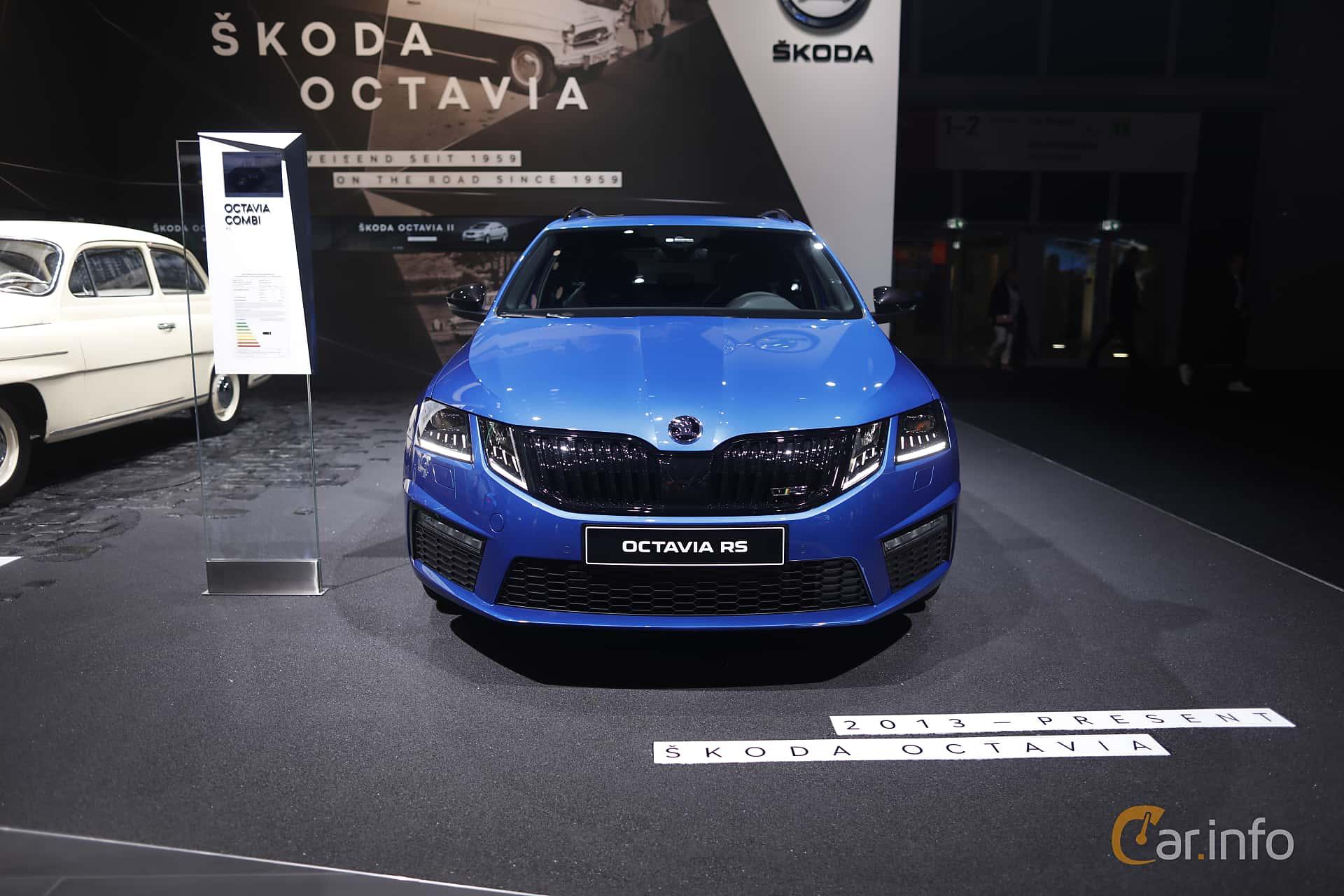 Front  of Skoda Octavia RS Combi 2.0 TSI Manual, 245ps, 2020 at IAA 2019