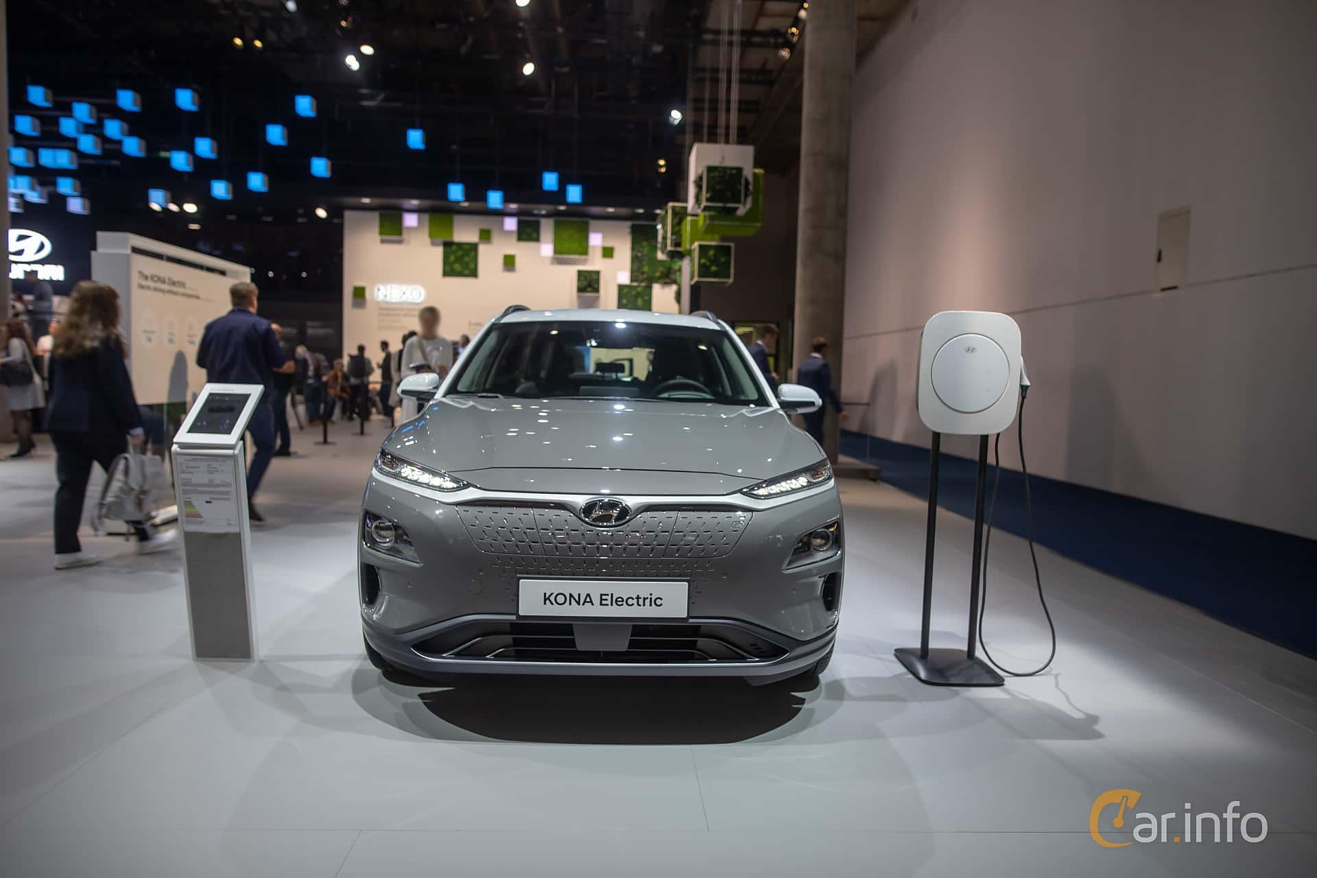 Front  of Hyundai Kona Electric 64 kWh Single Speed, 204ps, 2020 at IAA 2019