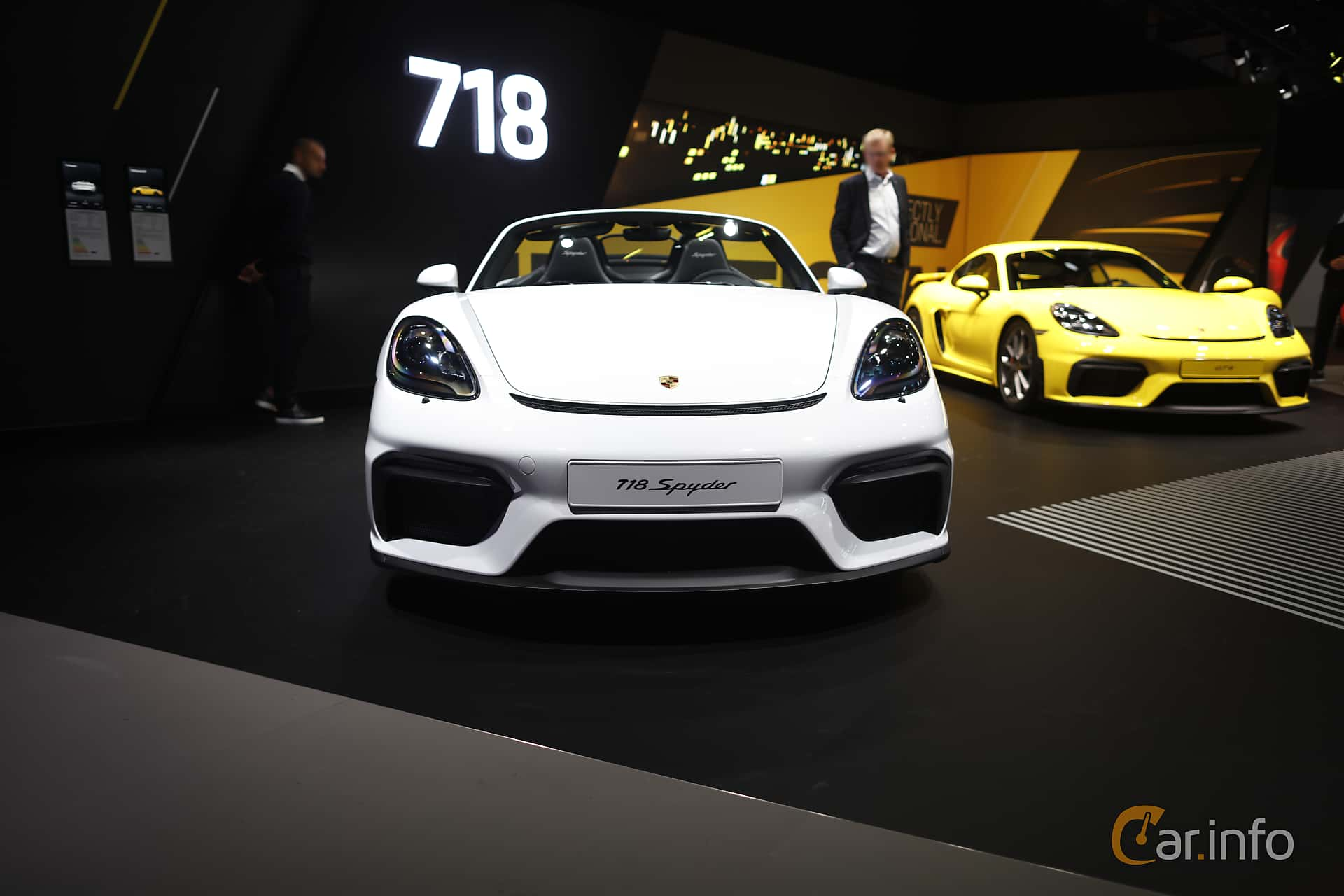 Porsche 718 Spyder 4.0 H6 Manual, 420hp, 2020 at IAA 2019