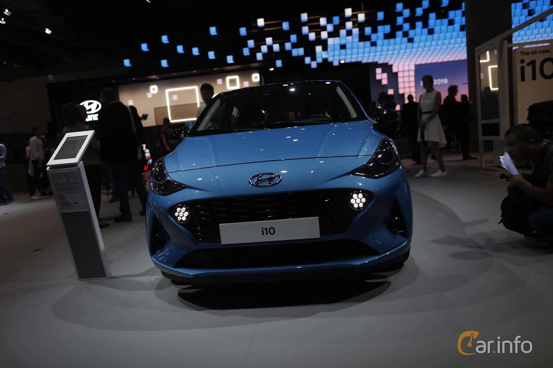 Front  of Hyundai i10 1.2 AMT, 84ps, 2020 at IAA 2019