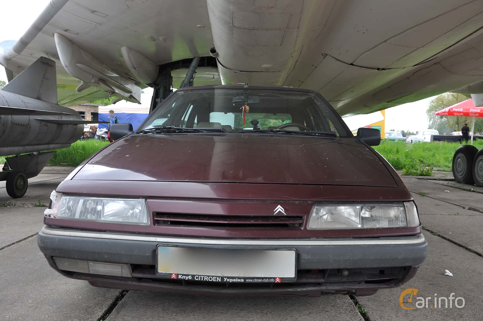 Citroën XM 2.0 Manual, 141hp, 1993 at Old Car Land no.1 2019