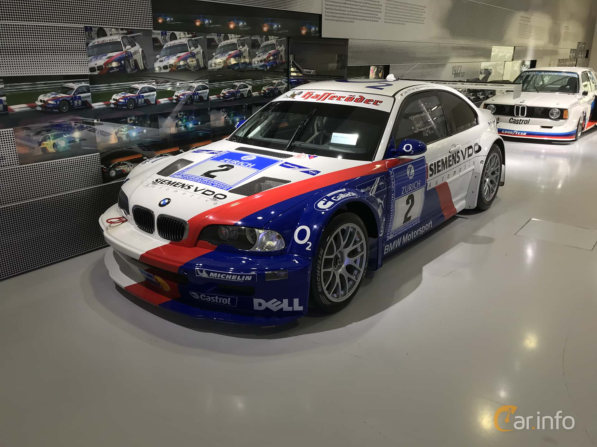 Front/Side  of BMW M3 GTR GT2  Manual, 500ps, 2004