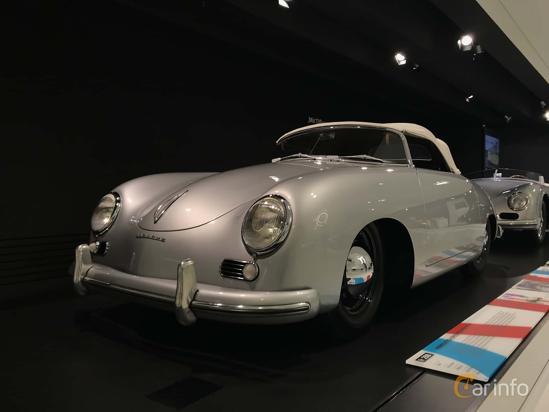 Porsche 356 1500 Speedster 1.5 Manual, 55hp, 1954