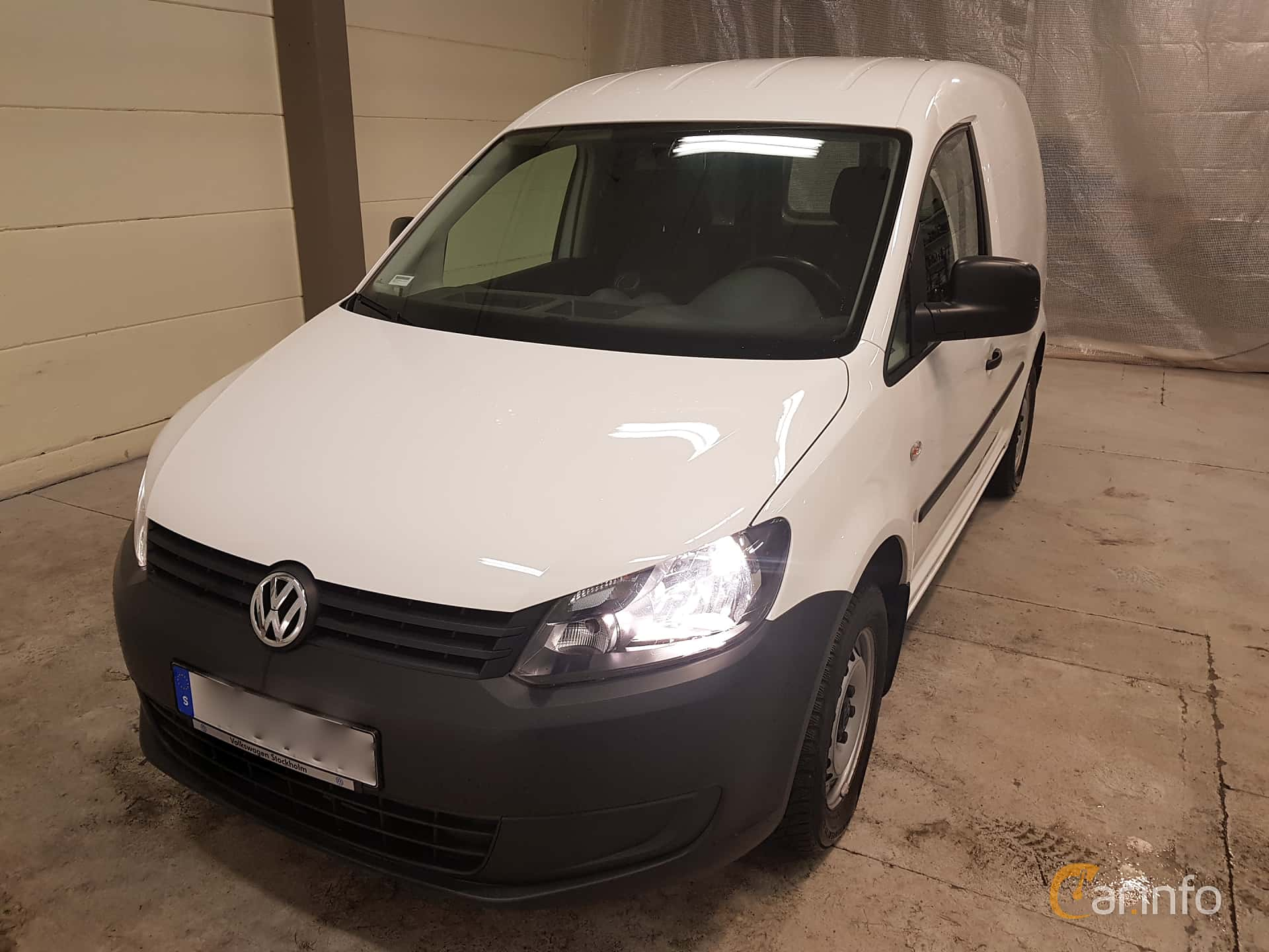 Volkswagen Caddy Panel Van 1.6 TDI Manual, 75hp, 2015