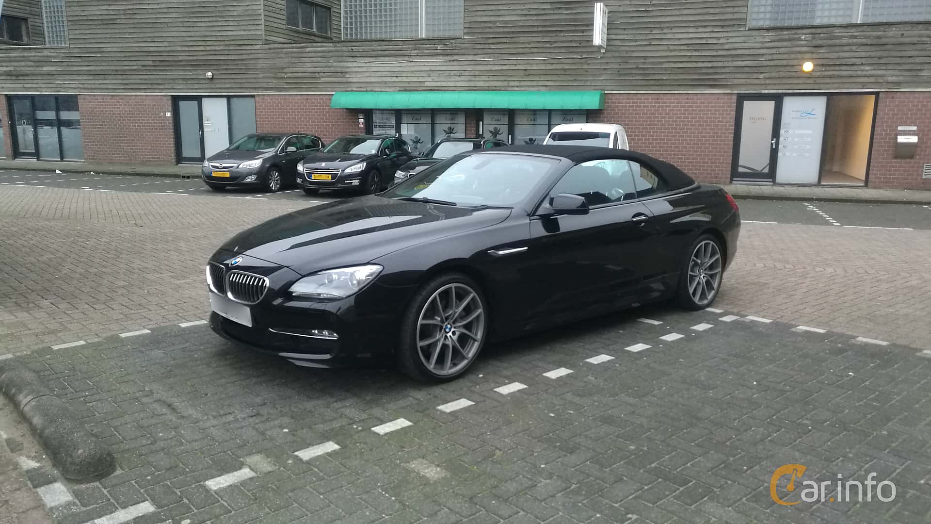 BMW 640i Convertible  Steptronic, 320hp, 2011