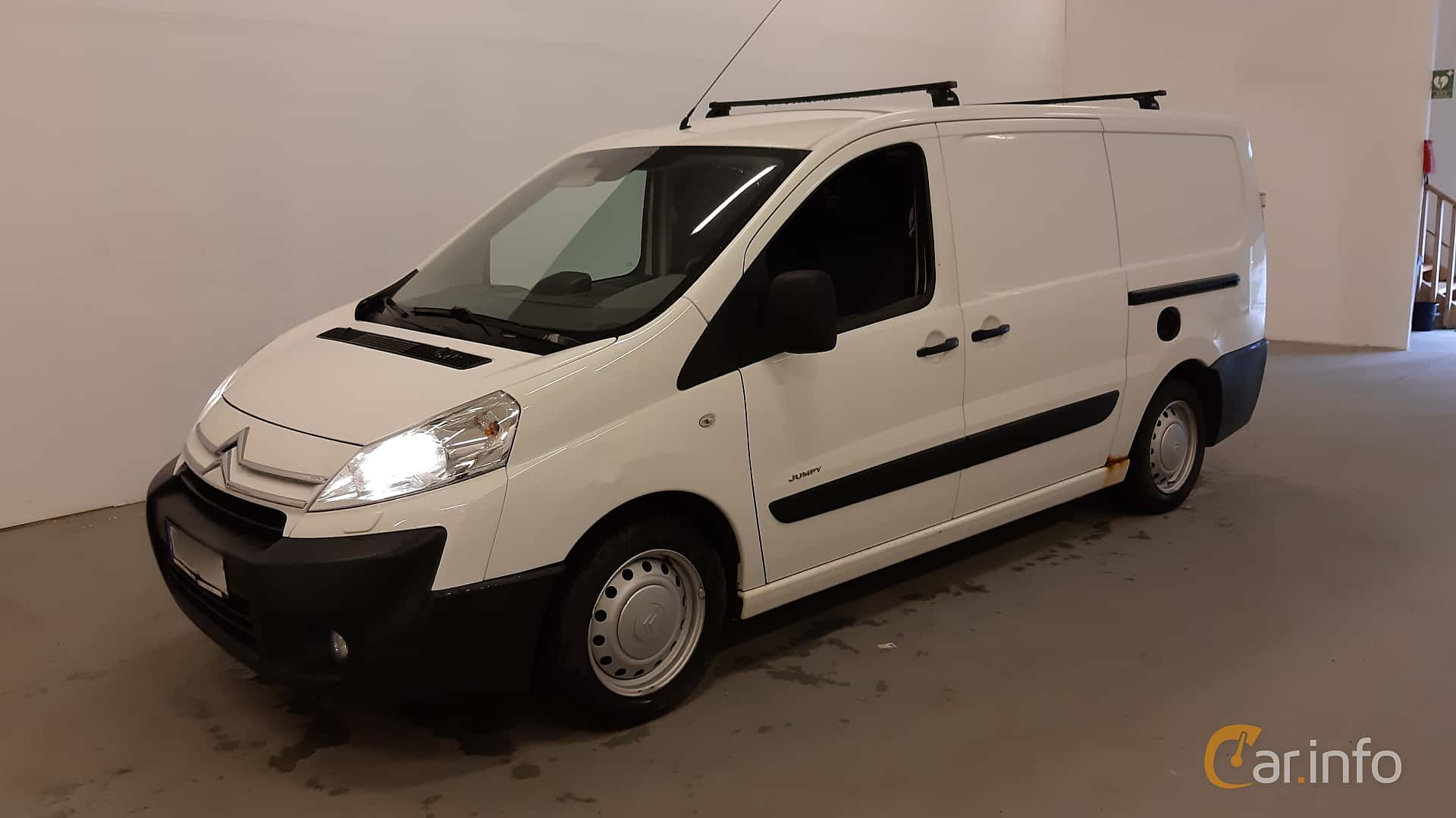 Citroën Jumpy Van 2.0 HDi Manual, 120hp, 2007
